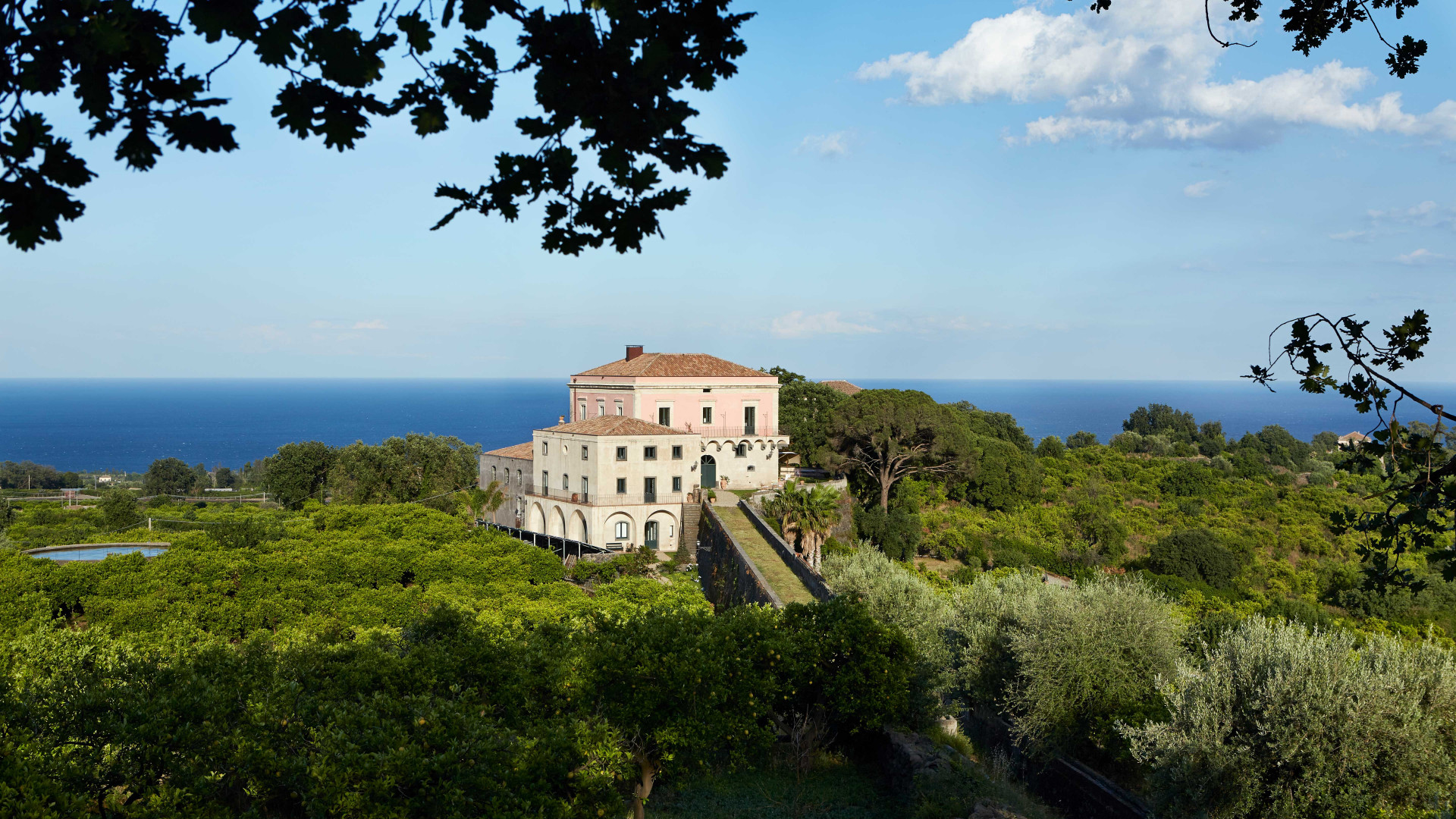 Rocca delle Tre Contrade, a villa in rural Sicily, just outside the city of Catania