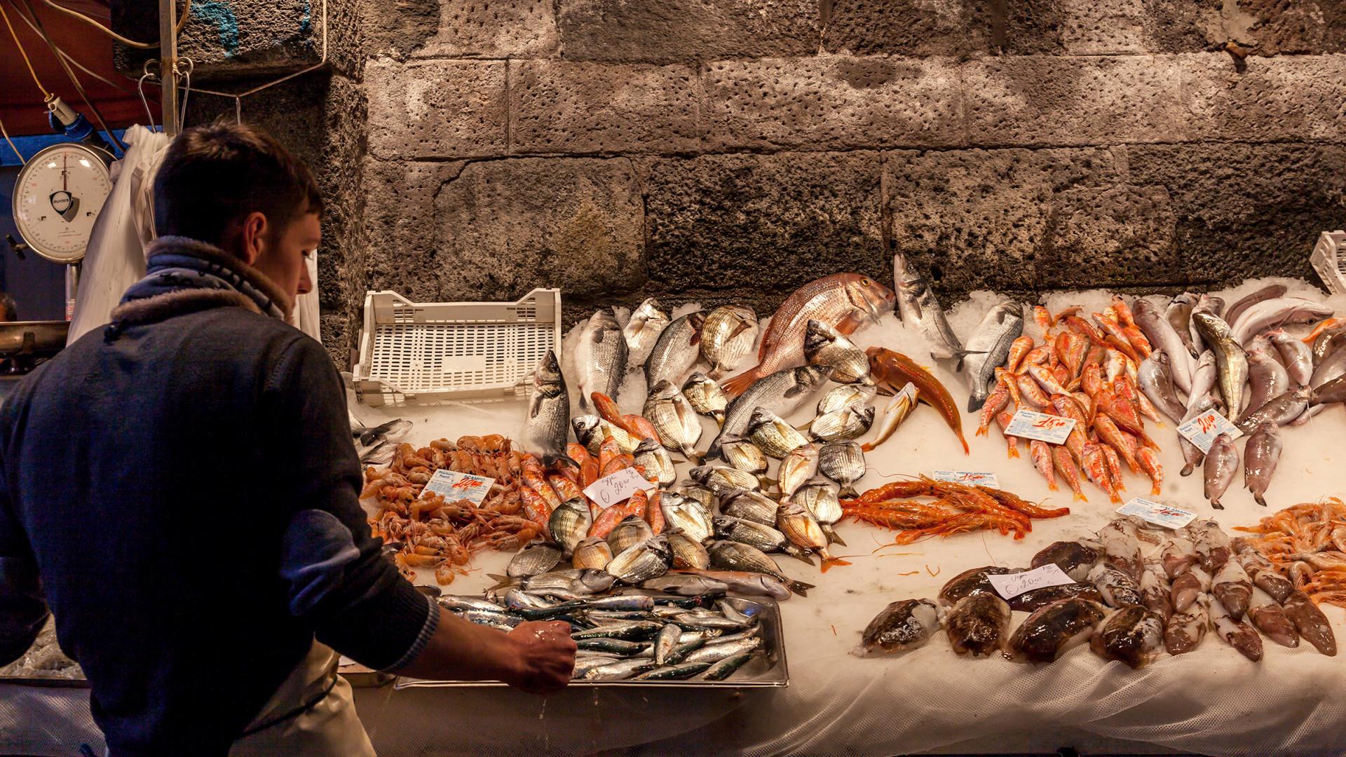 Sicilian street produce