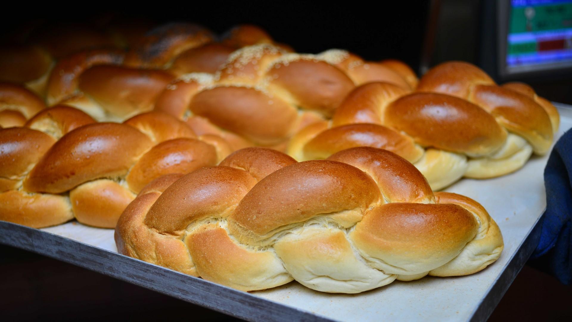 Challah bread from J Grodzinski & Daughters