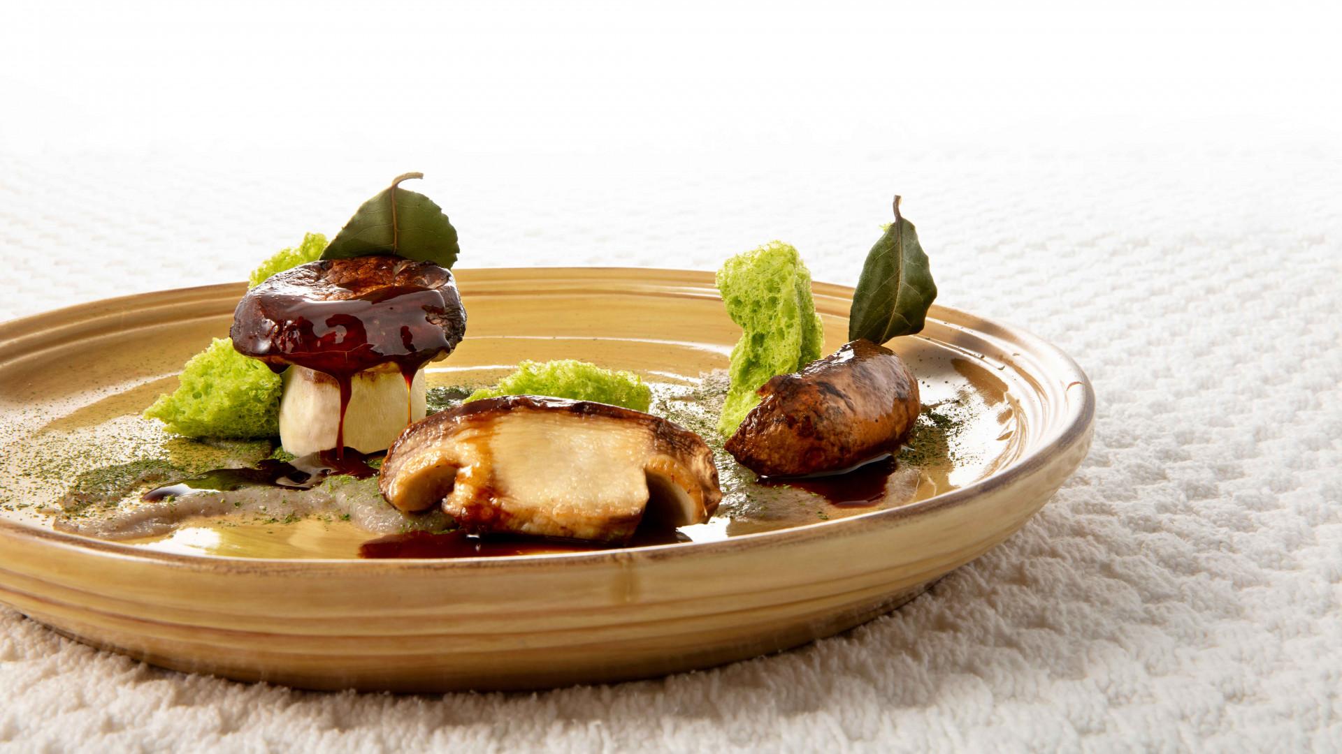 A dish at Due Camini