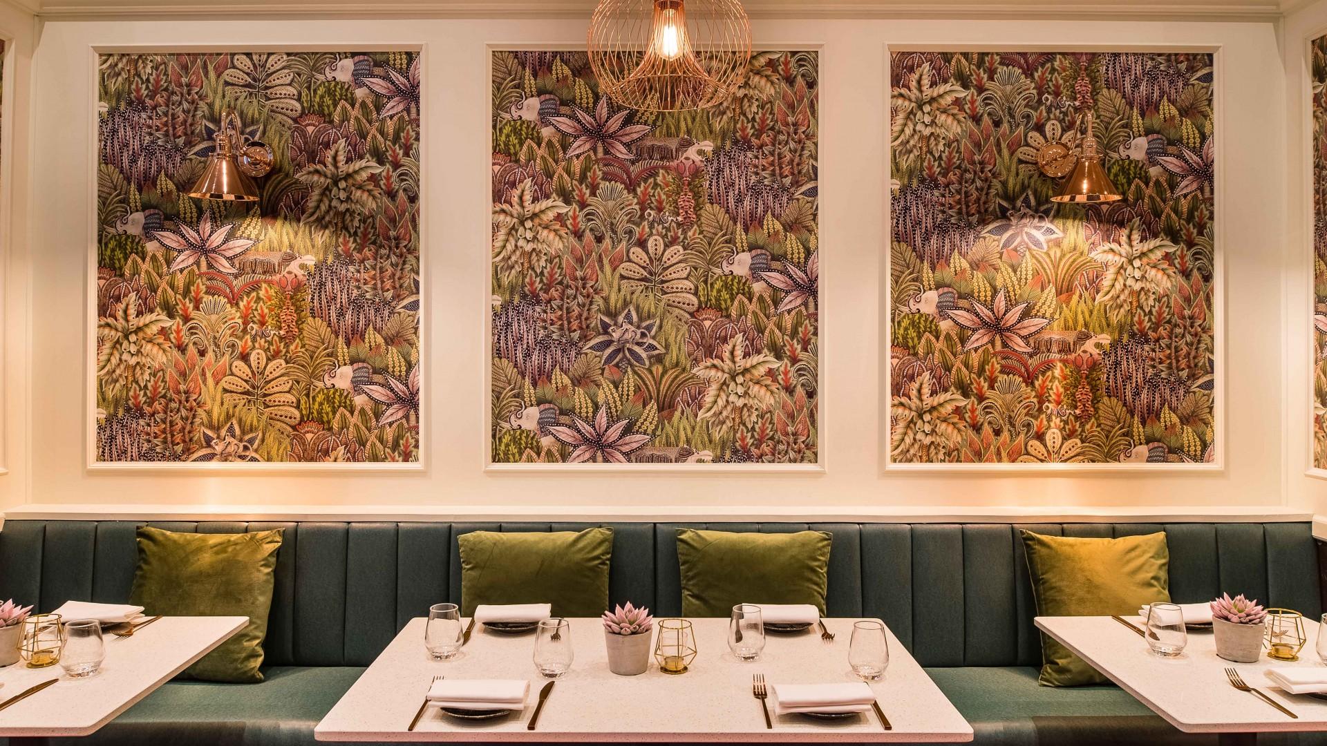 Ooty, Marylebone's interiors