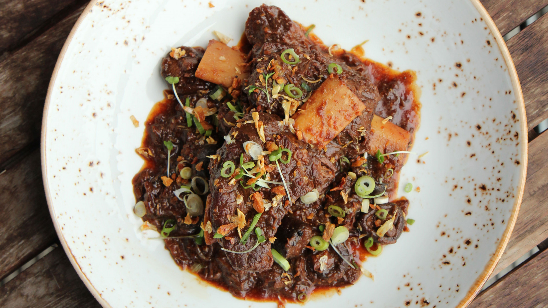 Shortrib beef pongteh