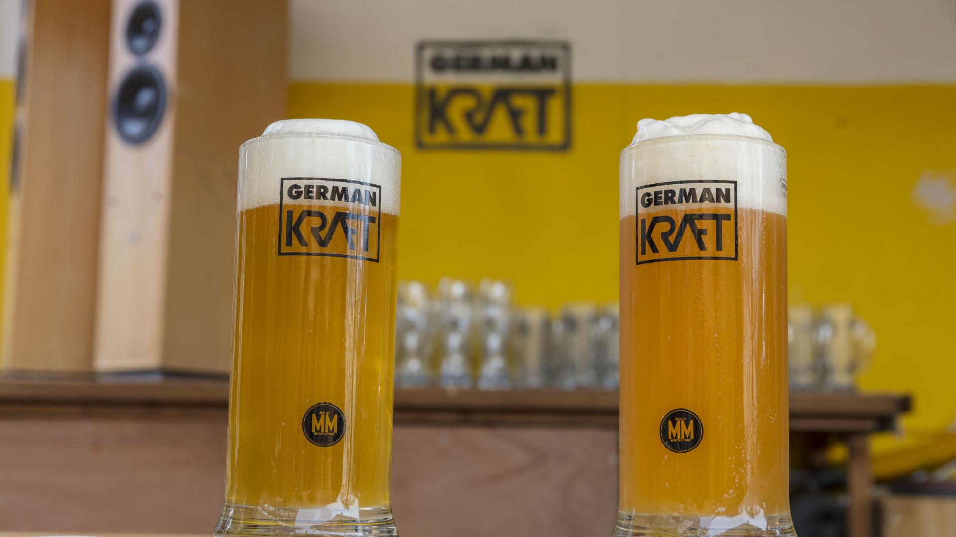 Pints at German Kraft brewer