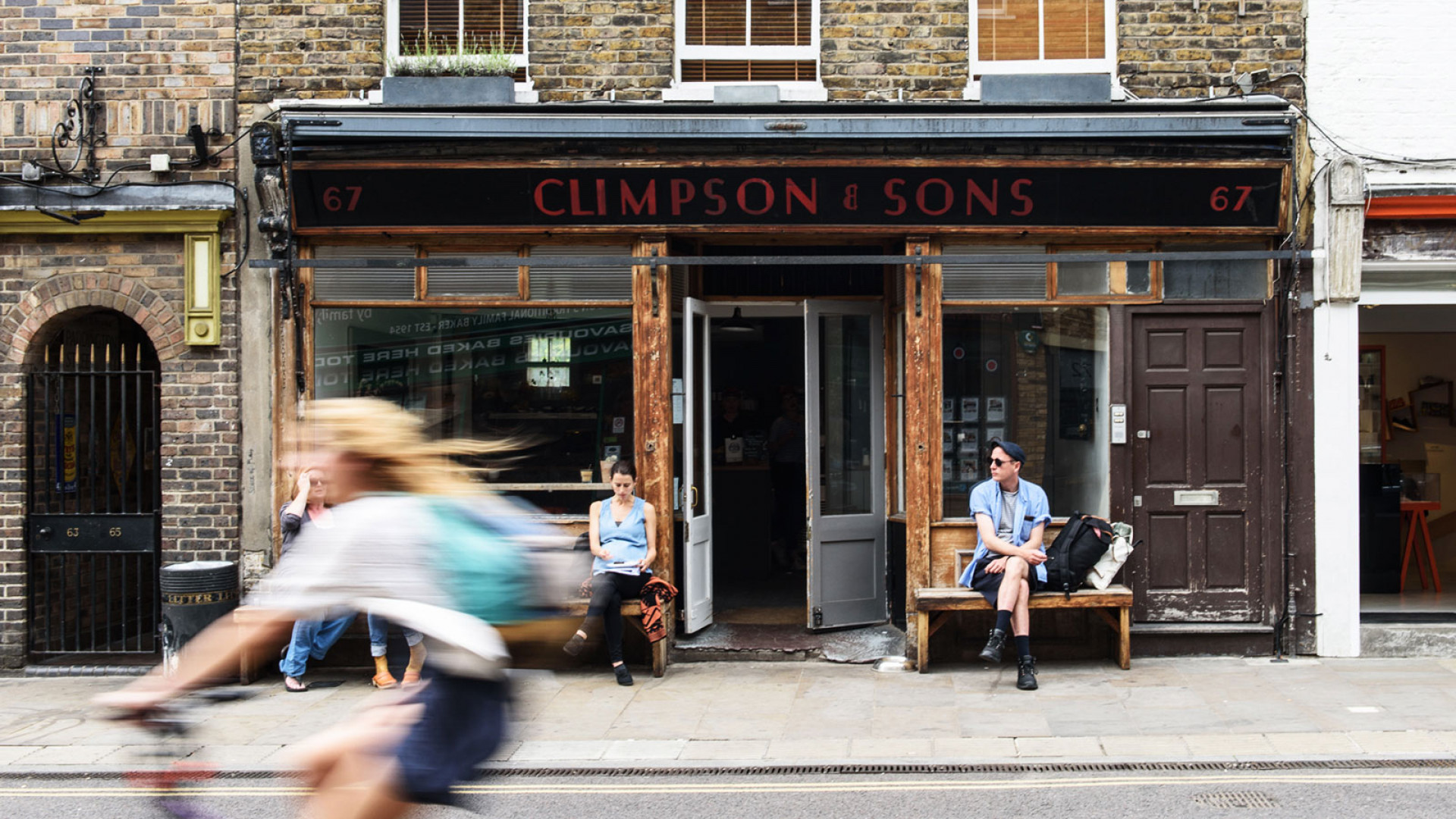 Climpson & Sons' Broadway Market café