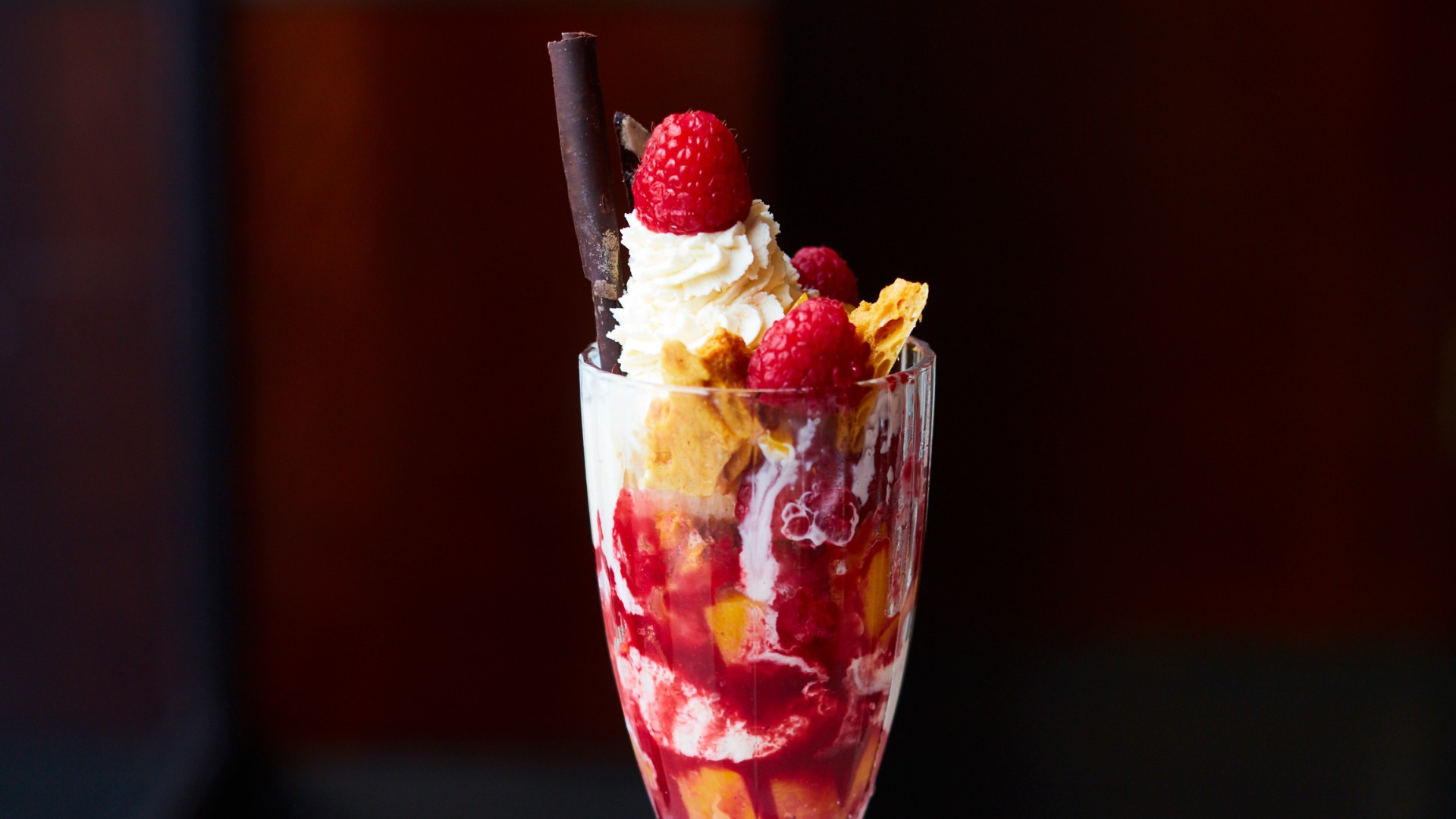 Knickerbocker glory at The Colony
