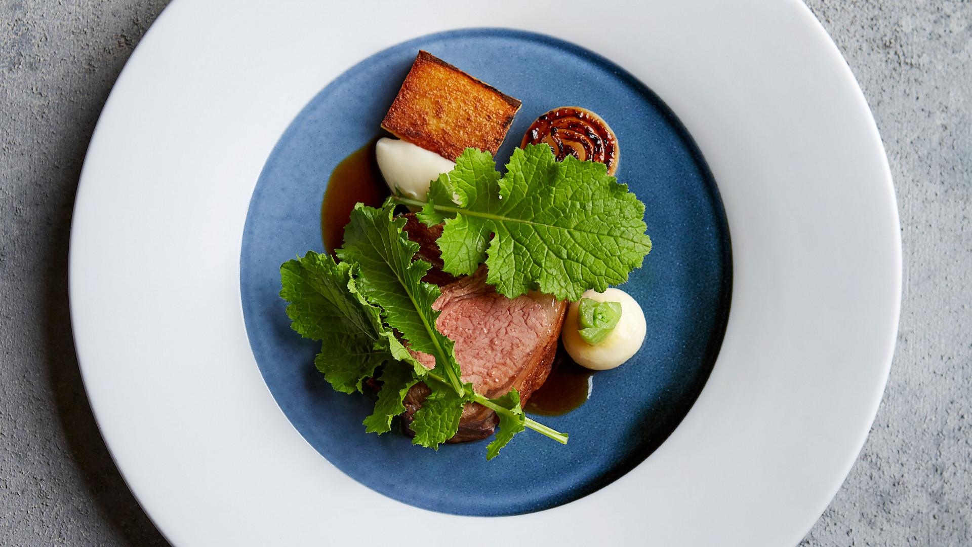Lamb, turnips and onion