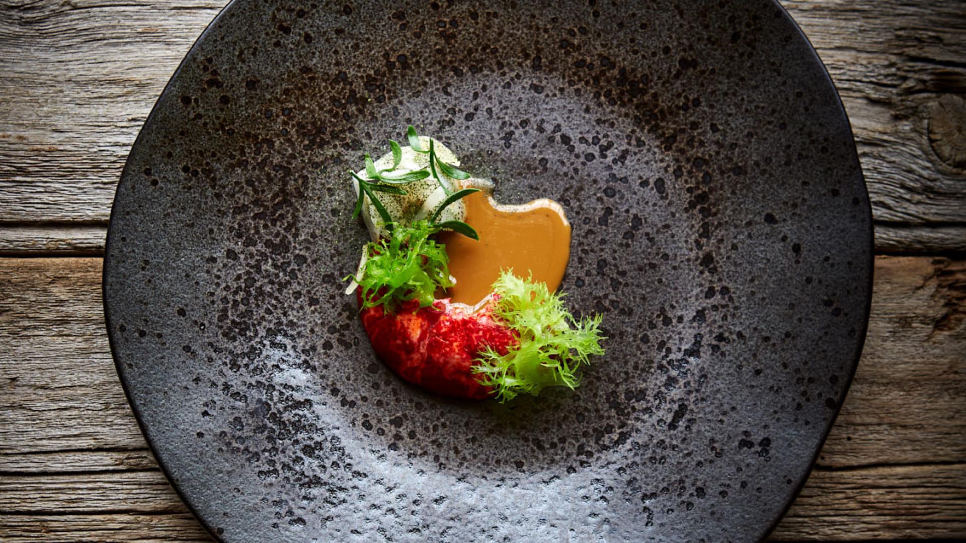 Lobster and celeriac