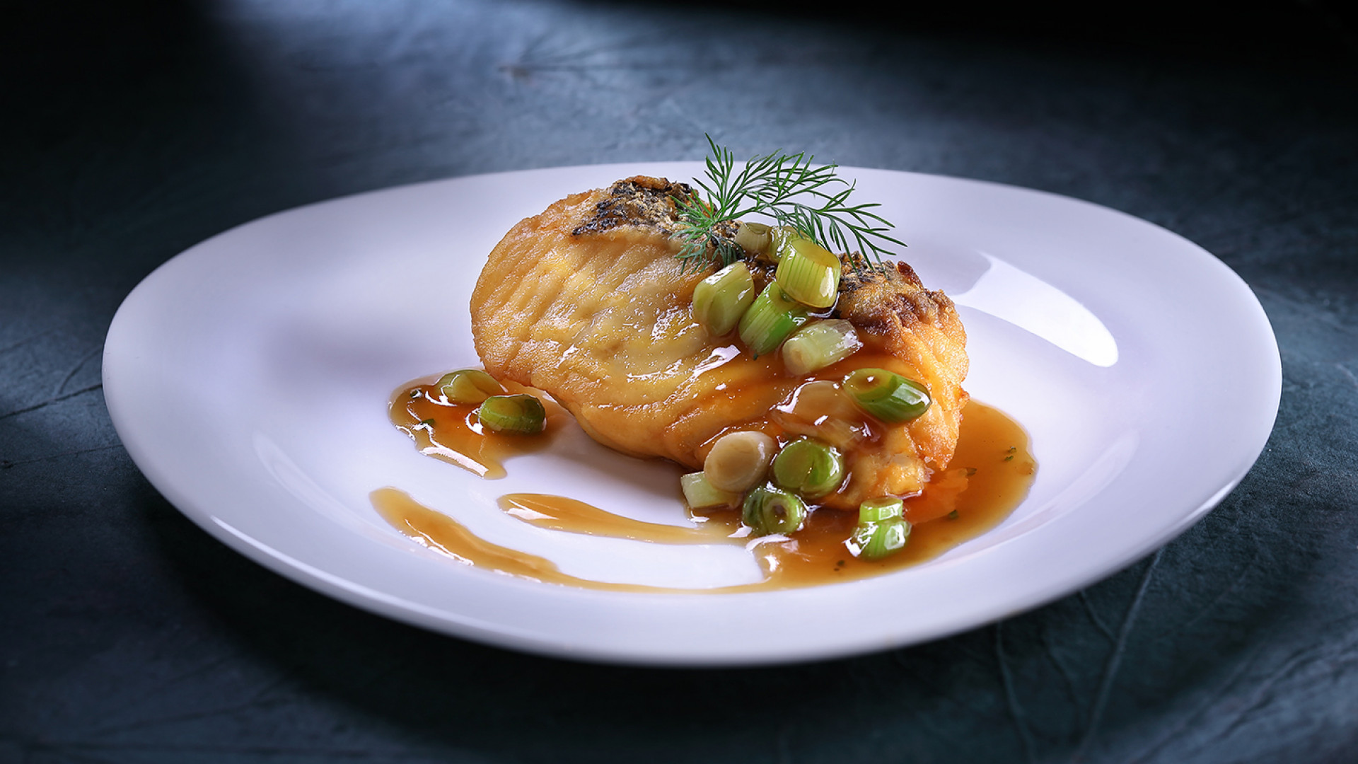 Cod fish fillet with Superior soy sauce