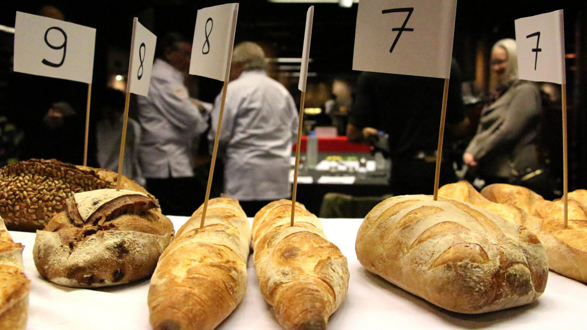 Best Baguette competition at HUCKSTER