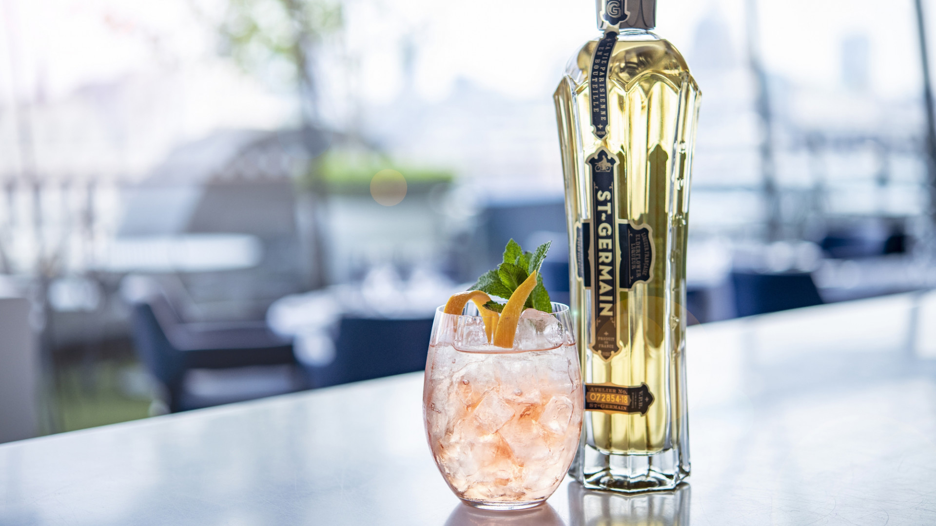 St Germain x OXO Tower