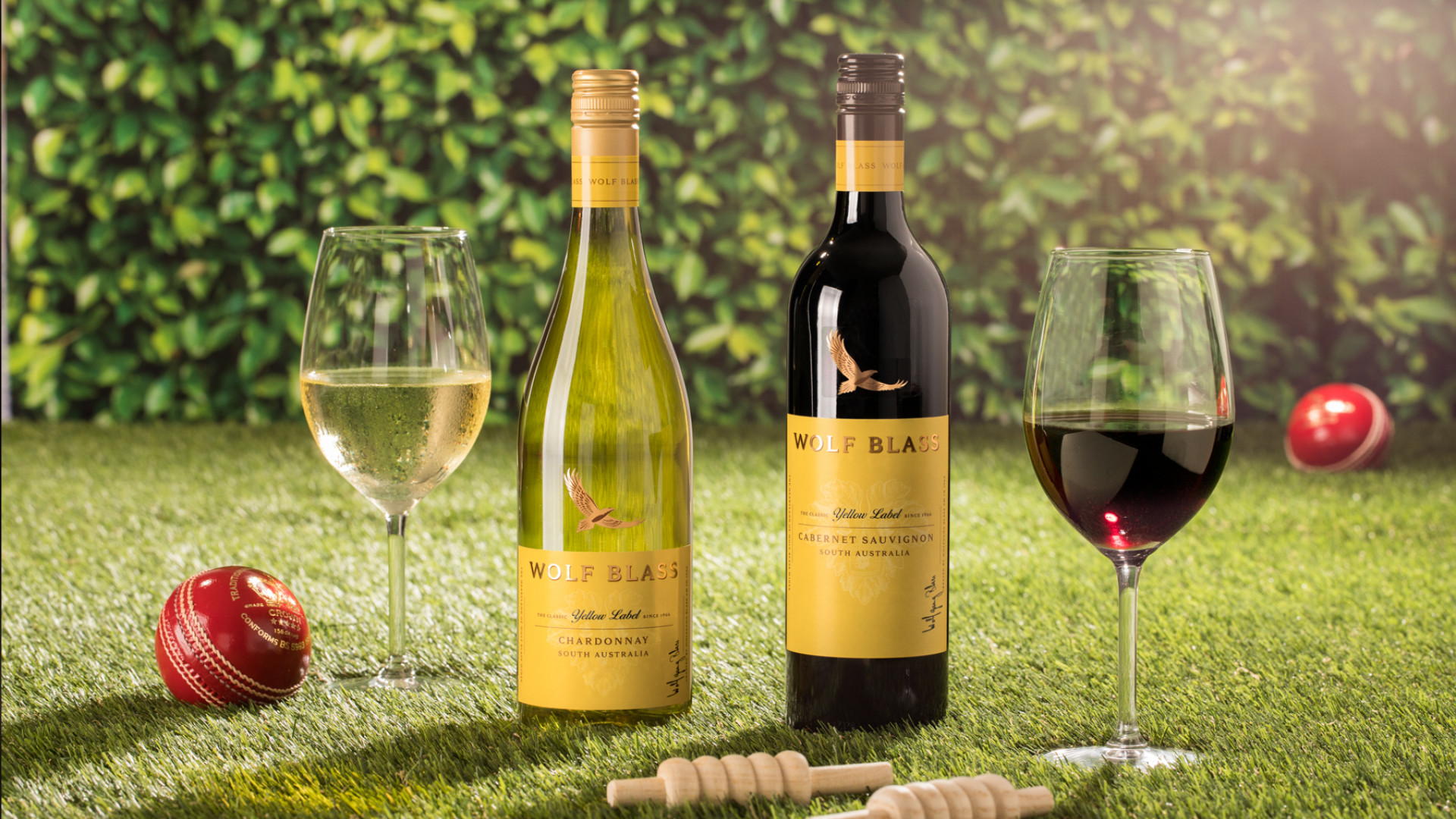 Wolf Blass wine pop-up ICC Cricket World Cup