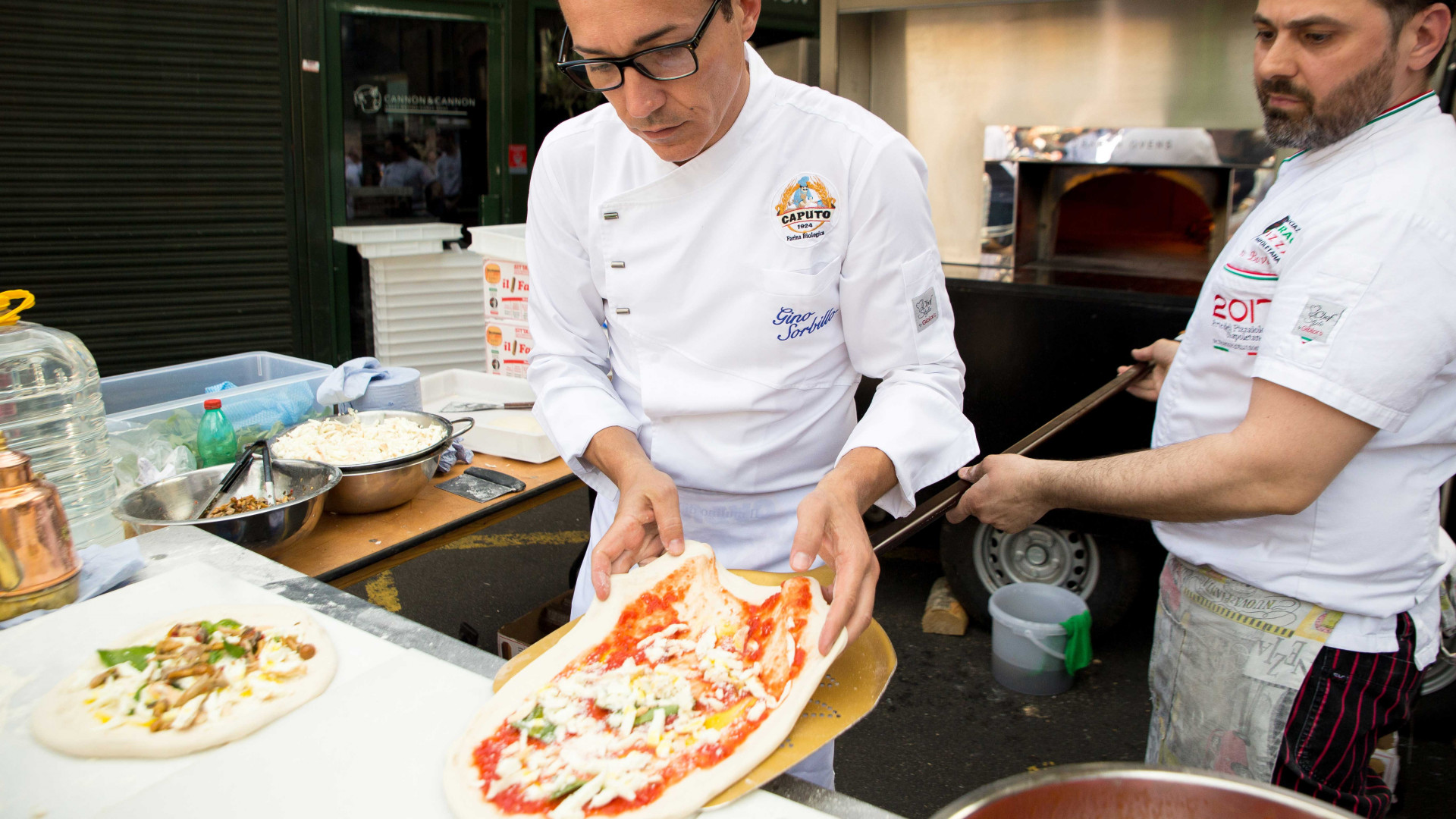 London Pizza Festival at Borough Market