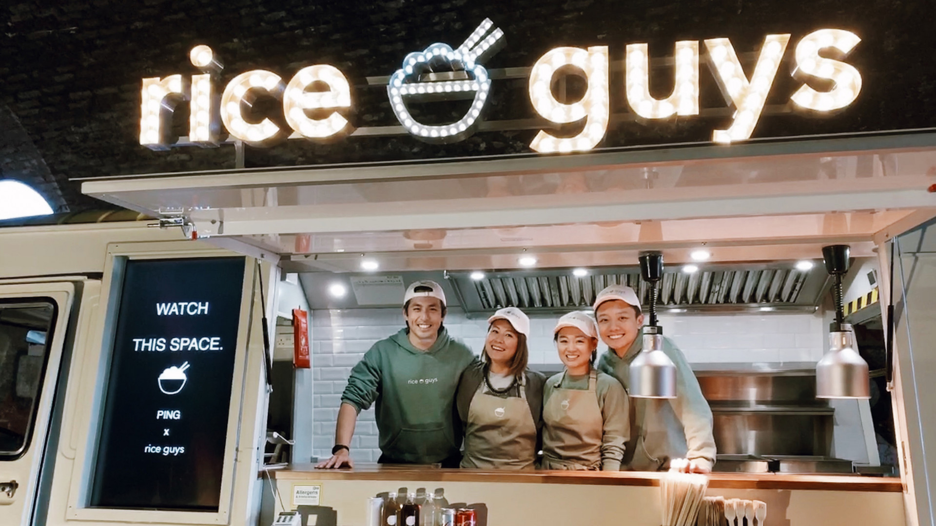 Rice Guys x Ping Coombes