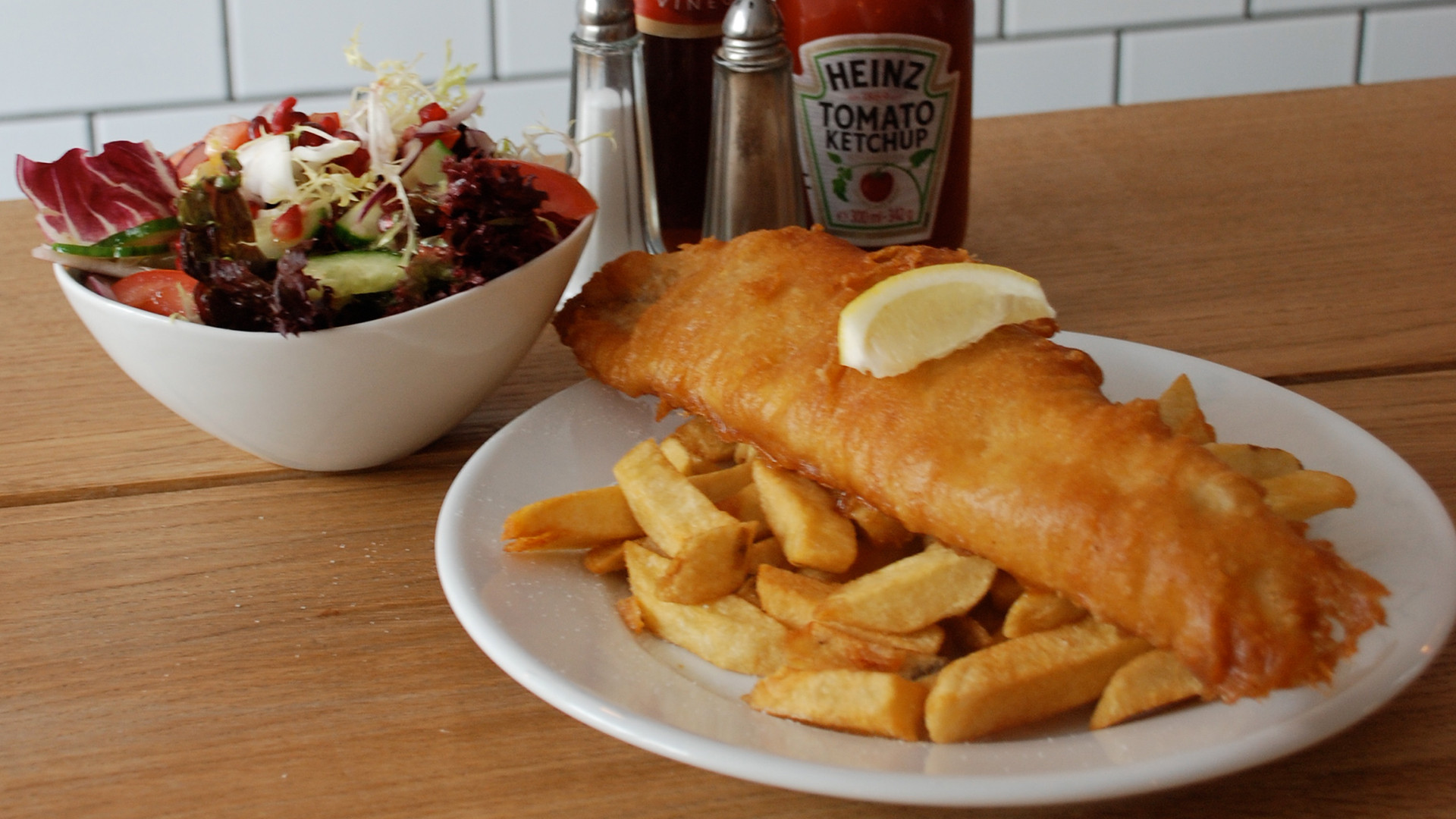 London's best fish and chips - Kerbisher and Malt