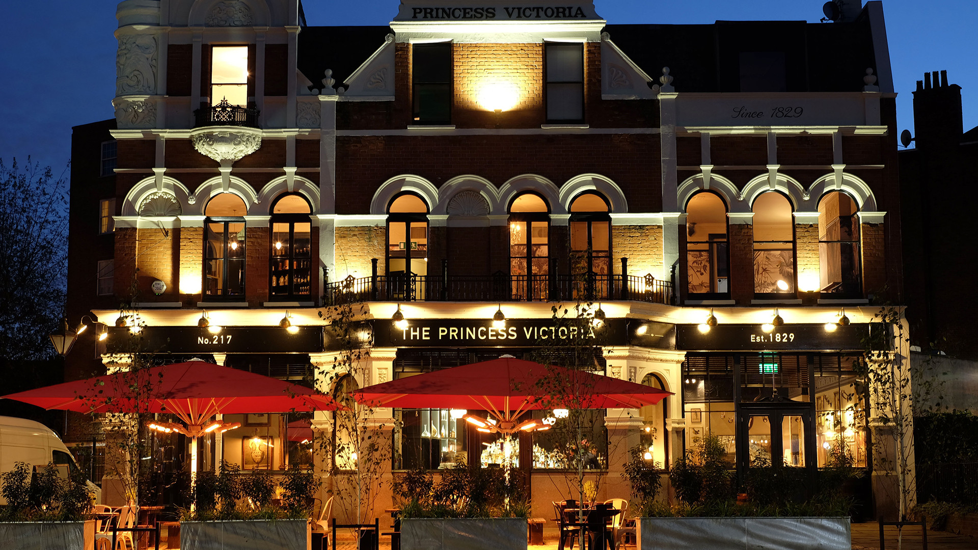 Shepherd's Bush Restaurants: The Princess Victoria
