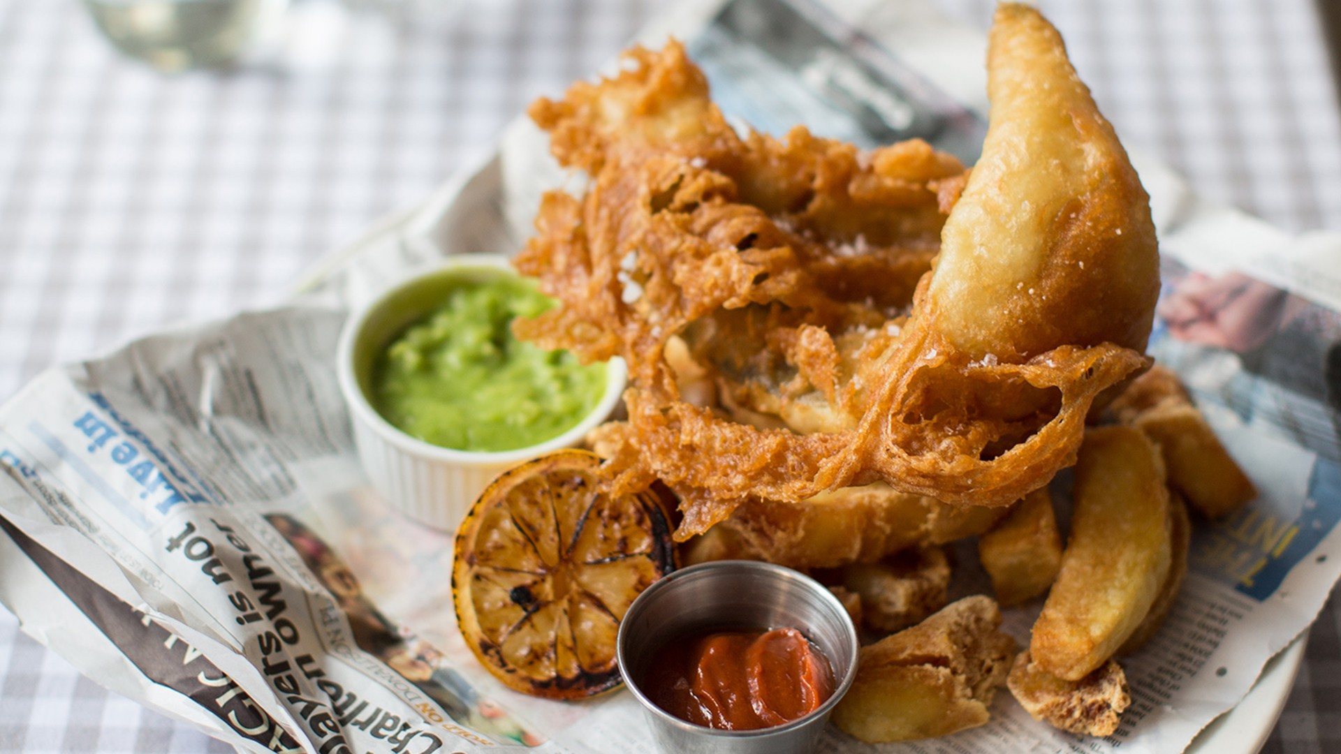 London's best fish and chips – Bonnie Gull