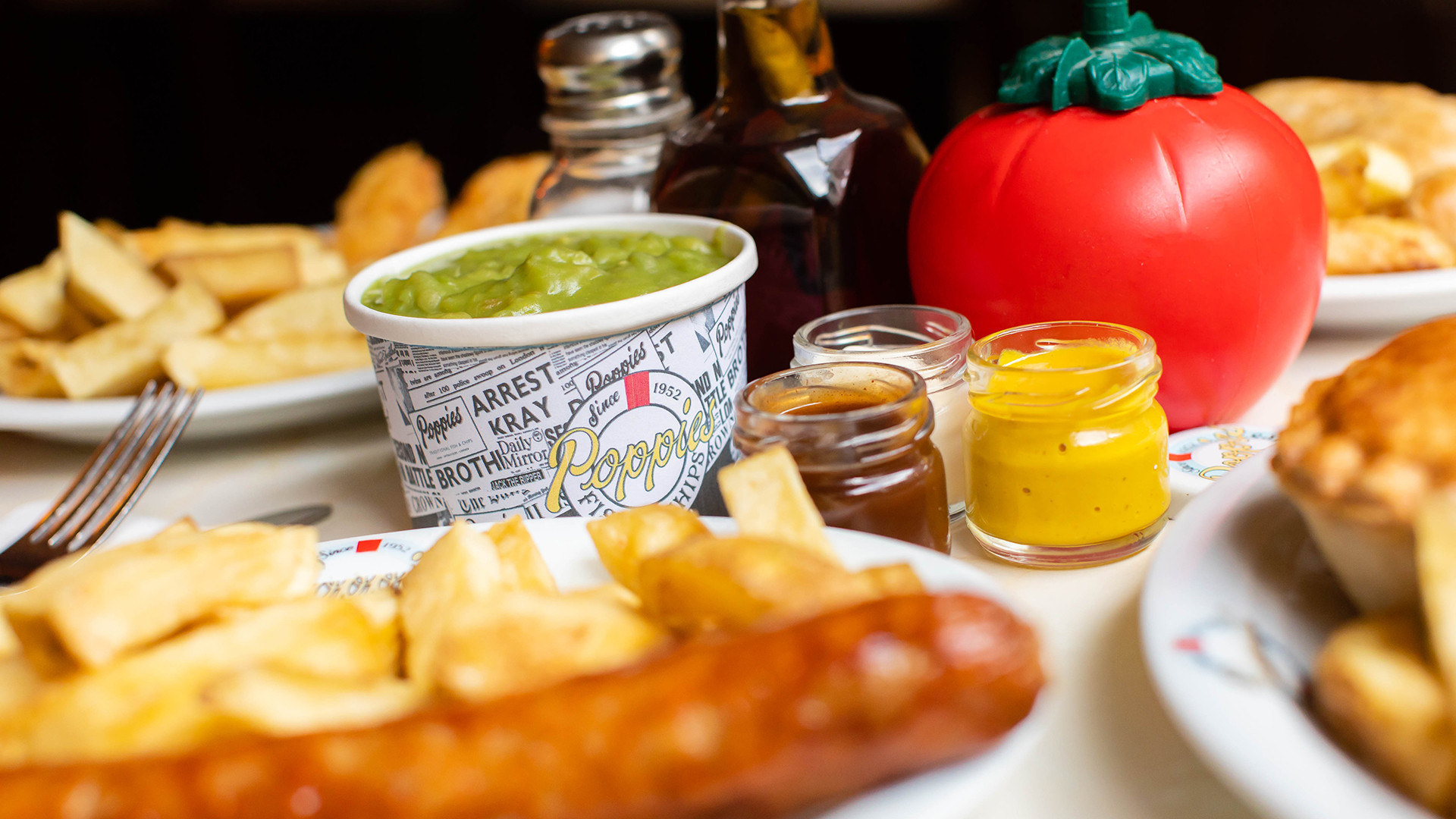London's best fish and chips - Poppies
