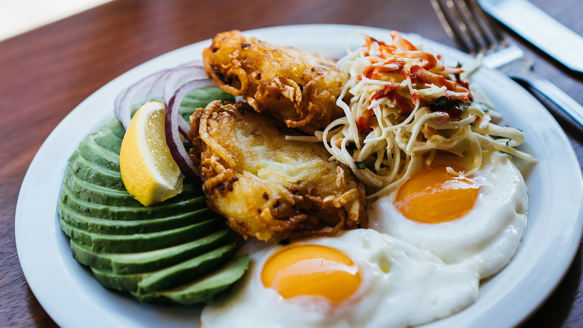 Latkes at Monty's Deli