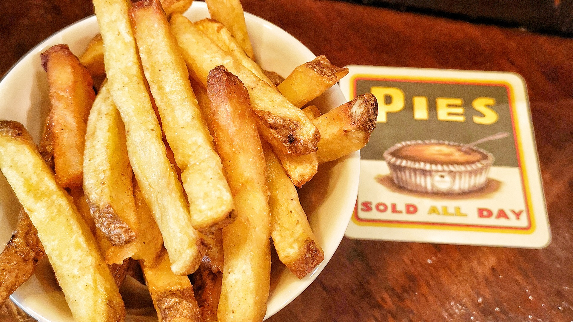 Chips at The Guinea Grill