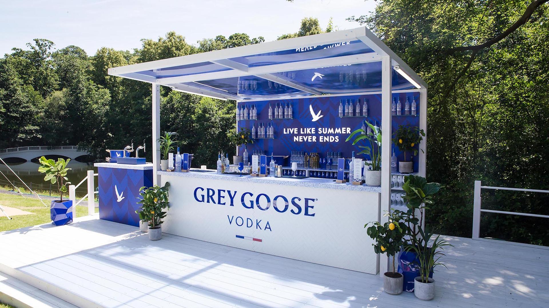 Grey Goose pop-up