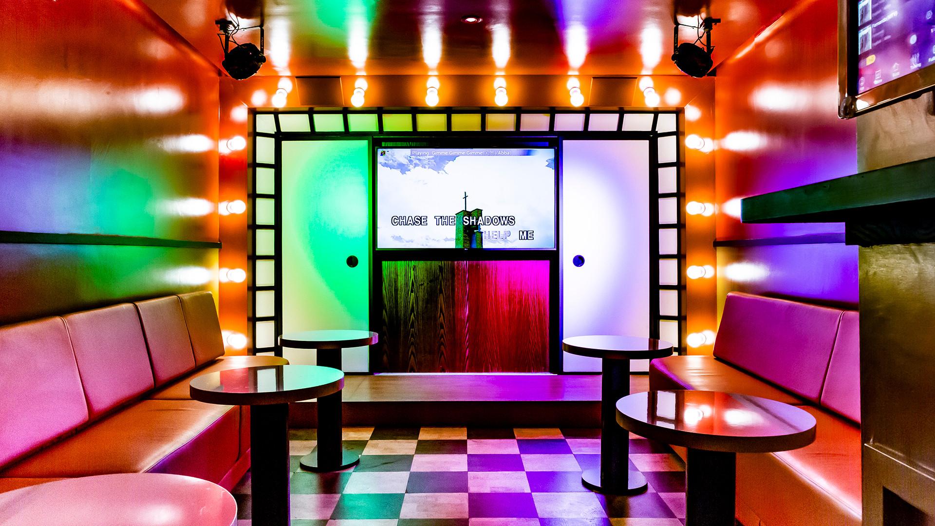 Karaoke room at BAO Borough