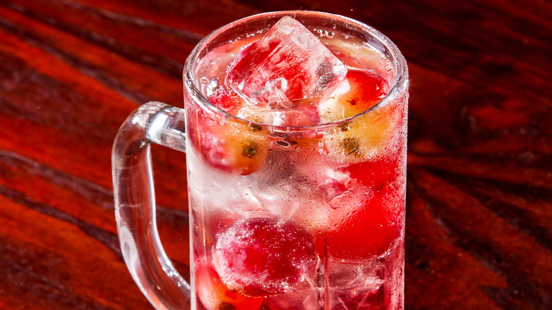 Grape cocktail at BAO Borough