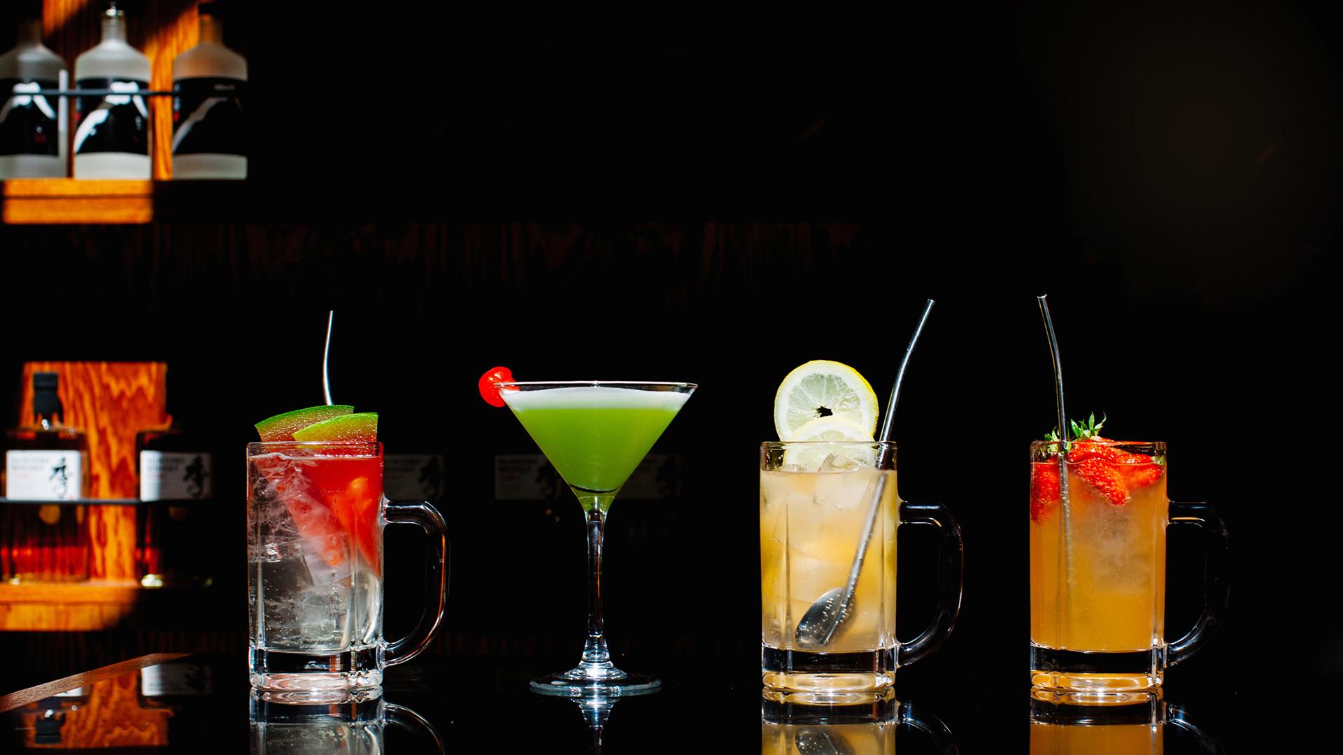 Highball cocktails at BAO Borough