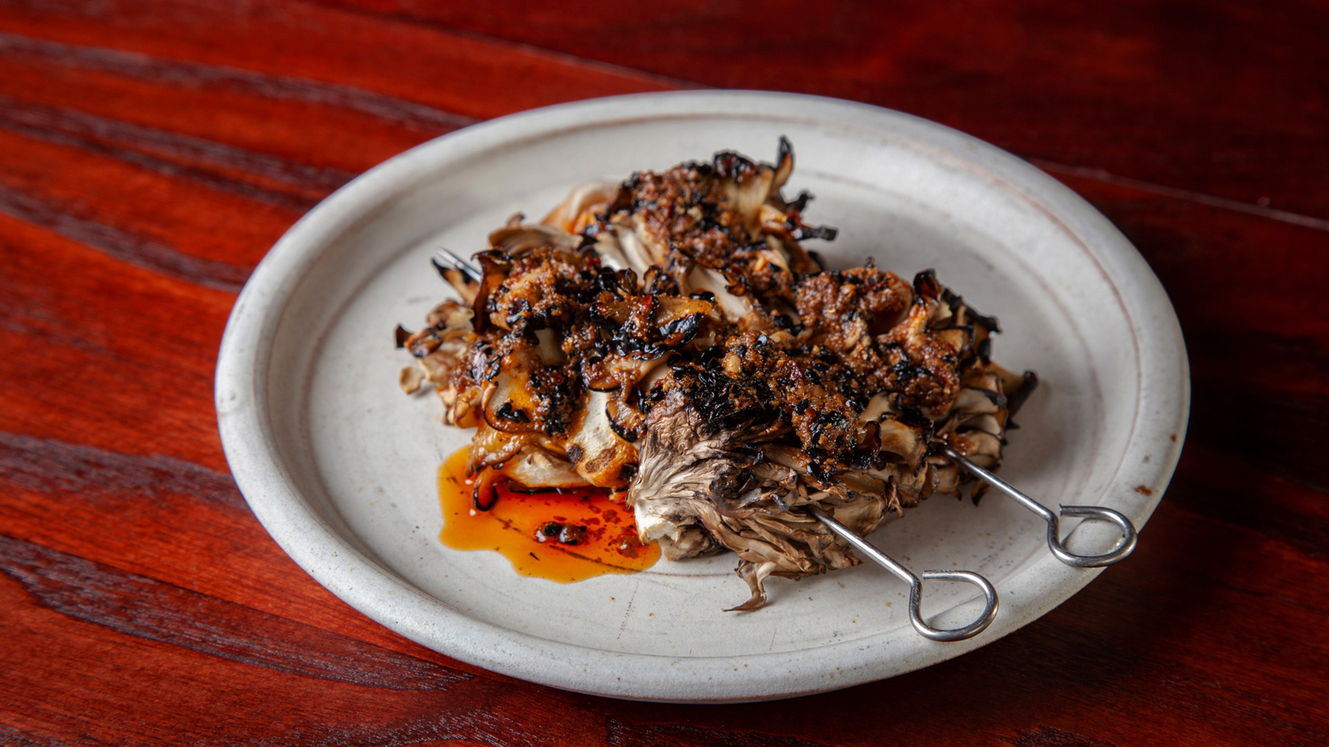 Xingjiang Maitaike Mushroom at BAO Borough