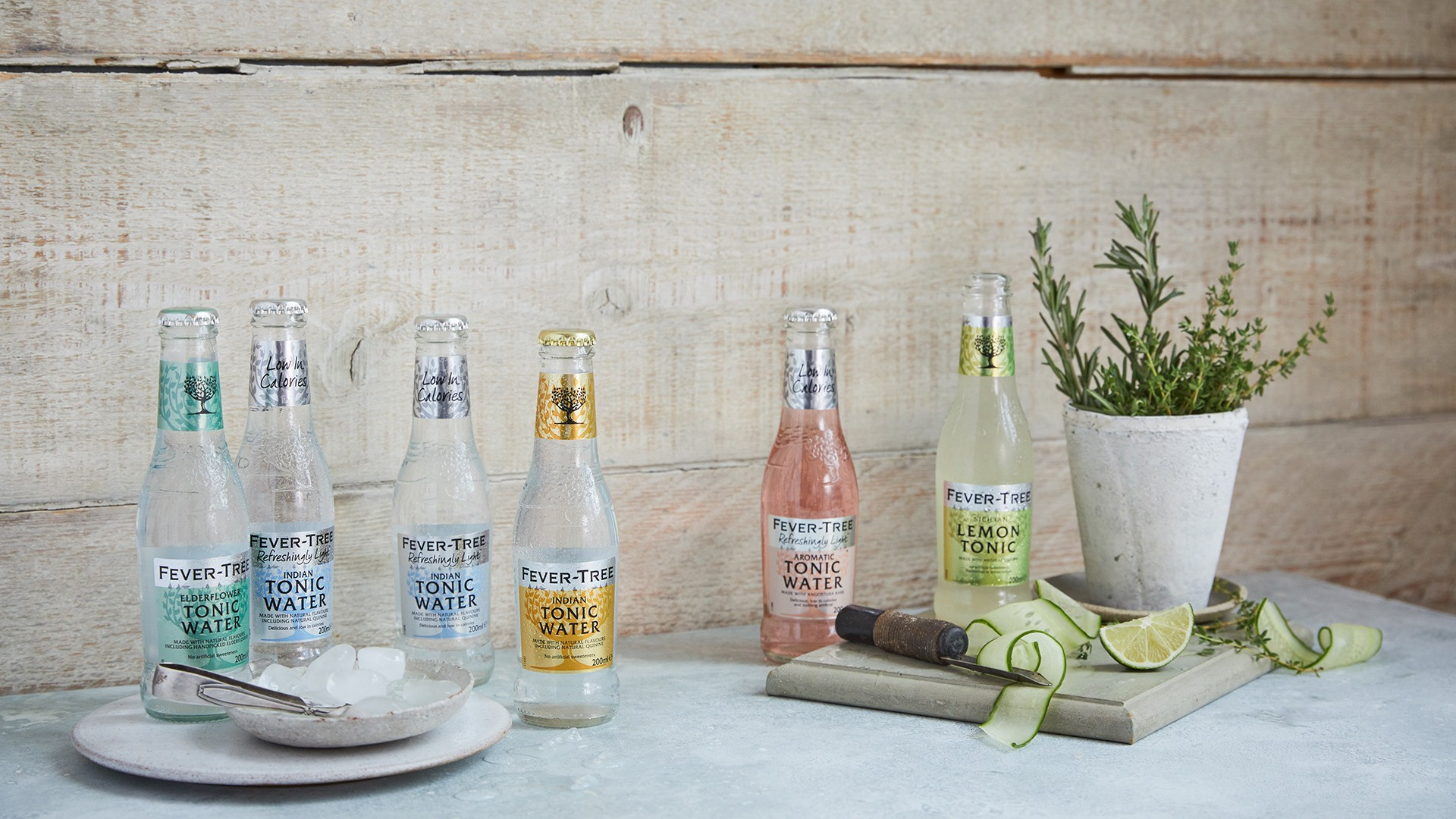 The full Fever-Tree line-up