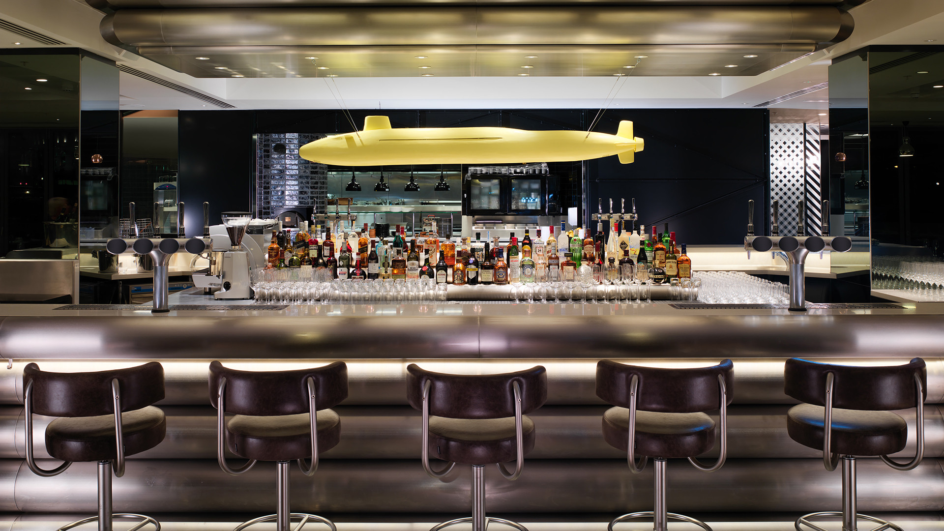 Sea Containers London bar
