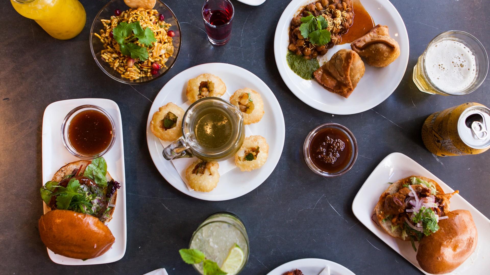 Street Kitchen feast at Roti Chai