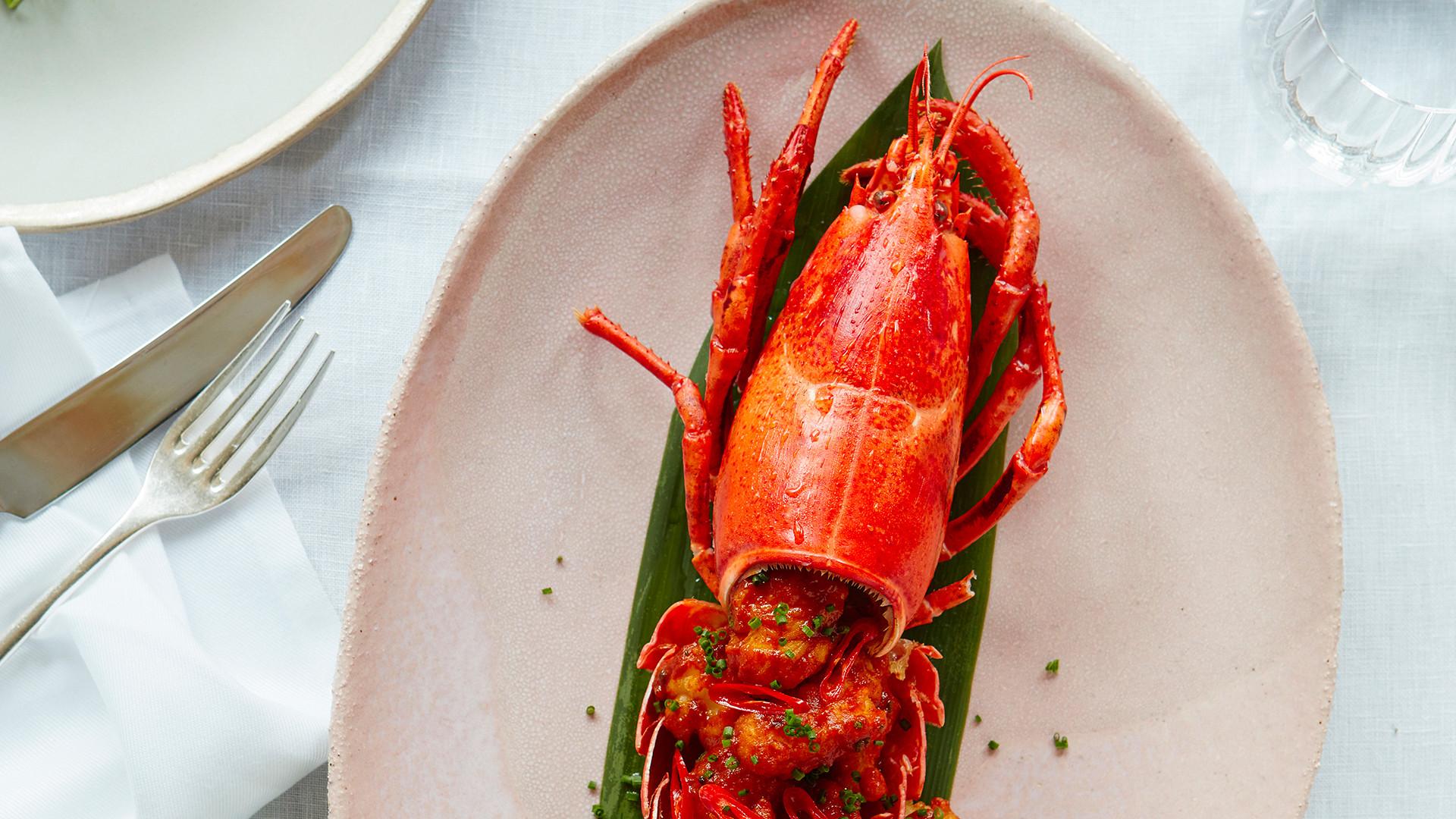 Lobster at Tamarind