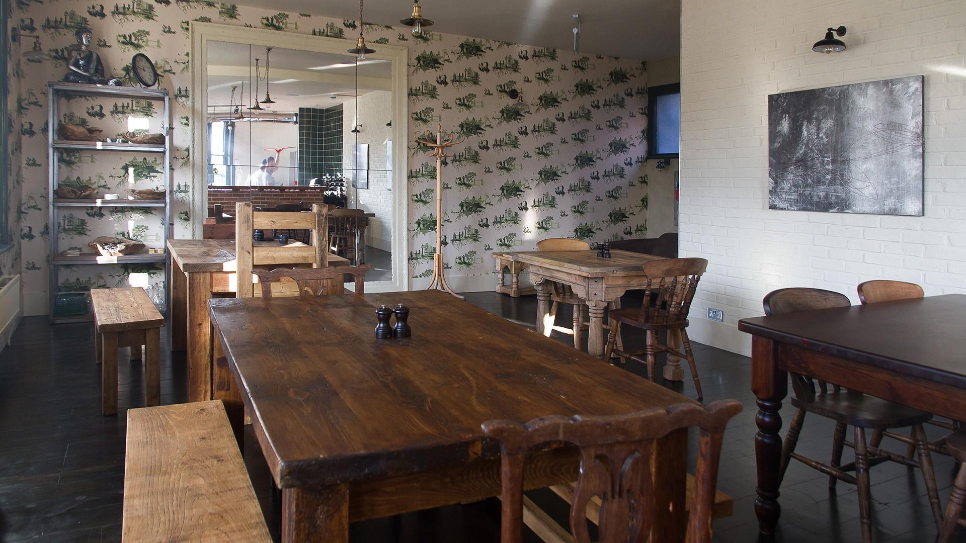 Sustainable restaurants London: Three Stags