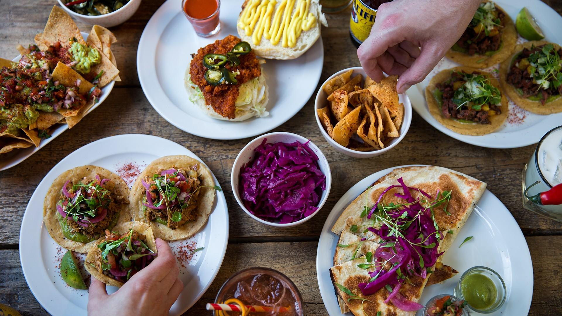 Sustainable restaurants London: The Spread Eagle