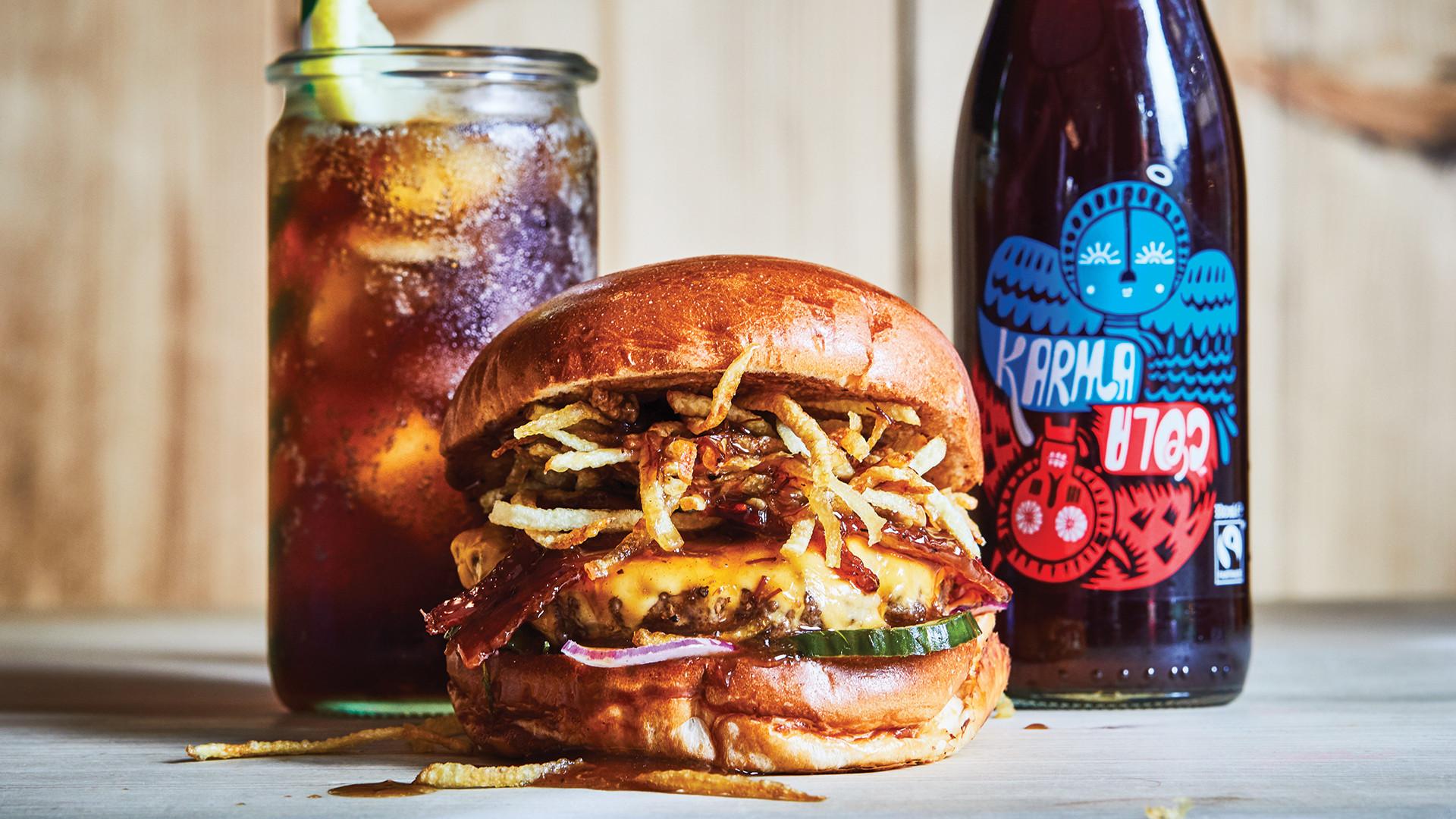 Honest Burgers x Karma Cola