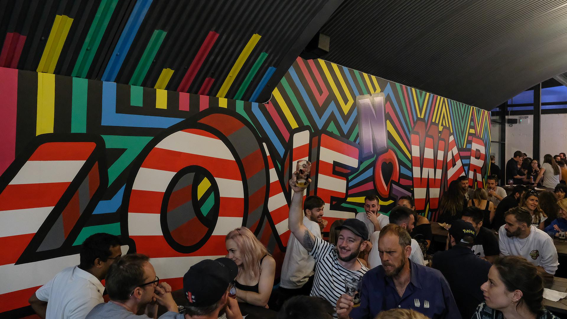 London Fields Brewery launch
