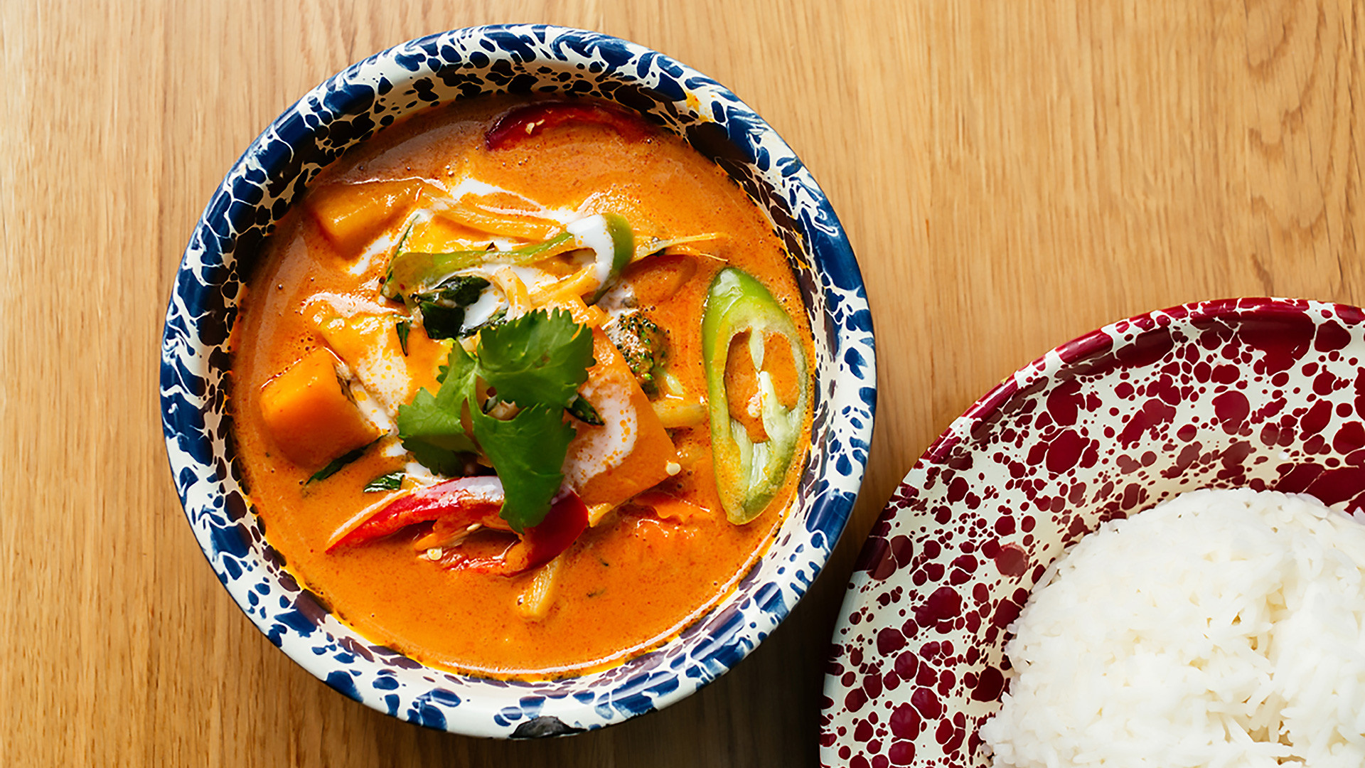 Rosa's Thai Cafe Vegan Butternut Red Curry