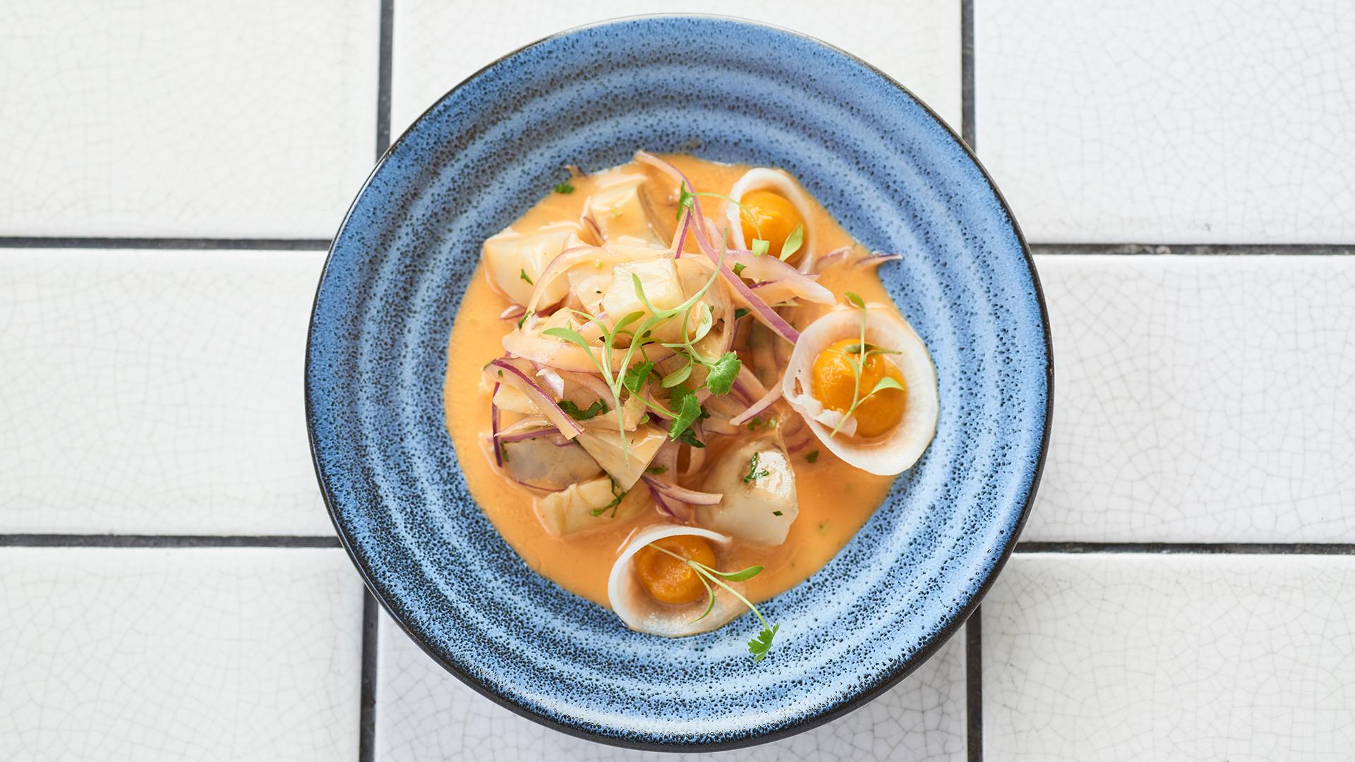 Ceviche chilli menu