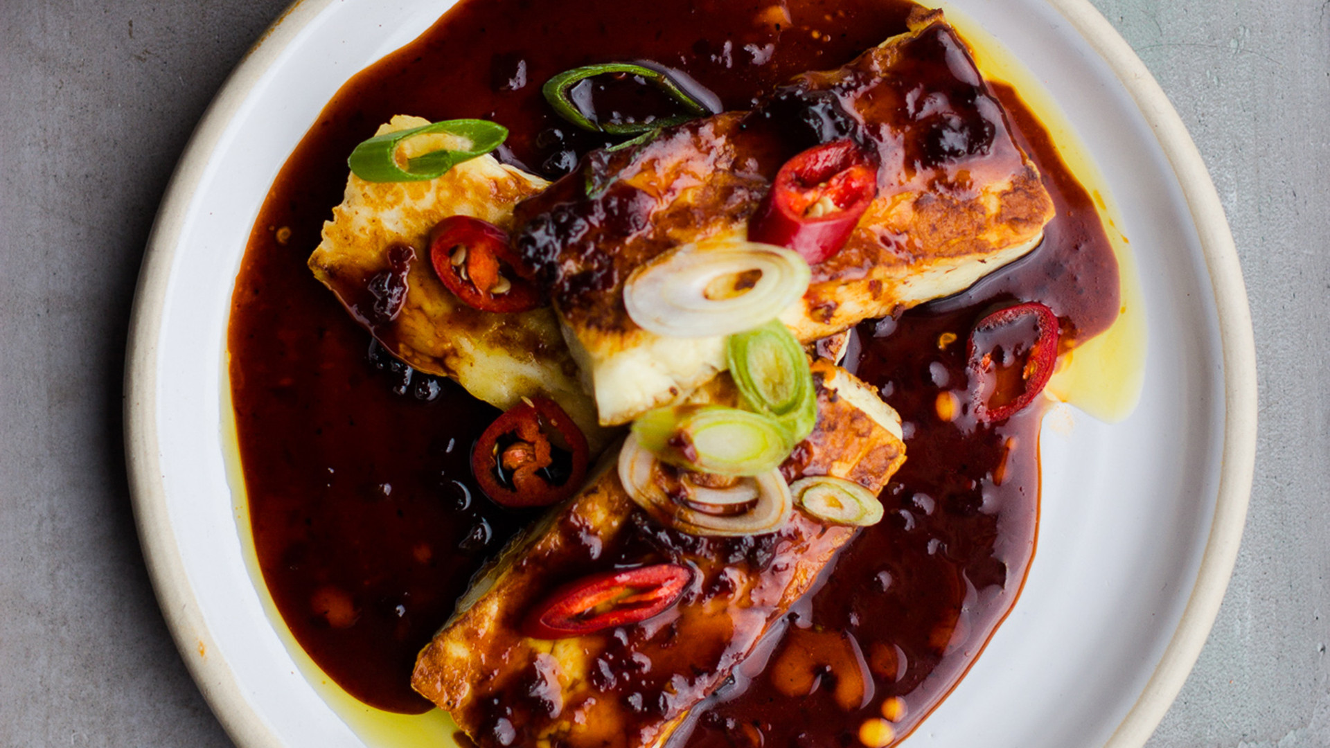 Bubala, Spitalfields: restaurant review – Halloumi, black vinegar, and honey
