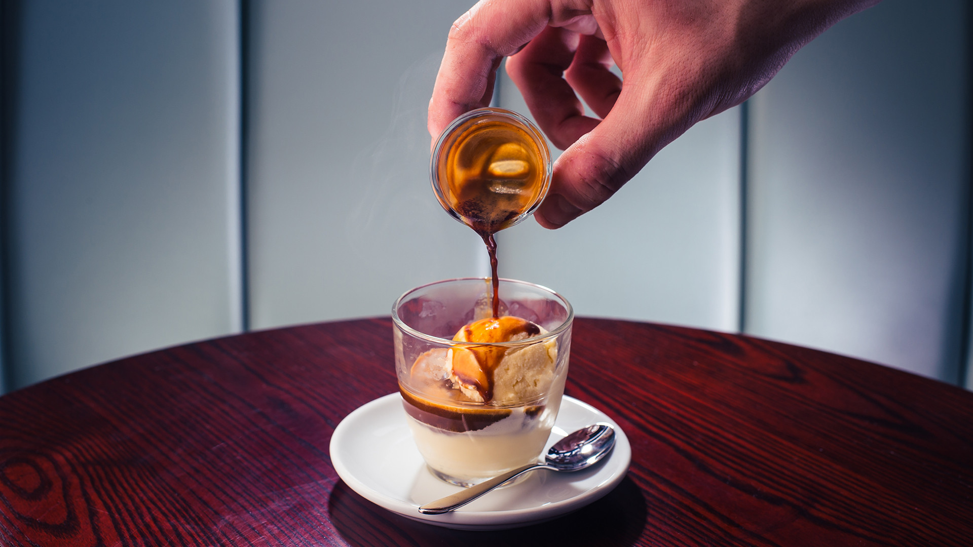 Affogato at Bar Termini
