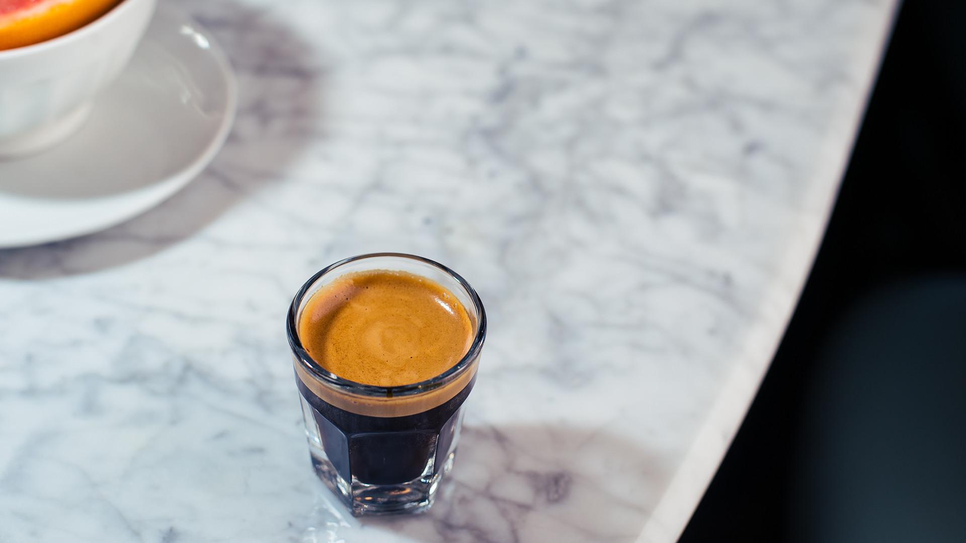 Espresso at Bar Termini