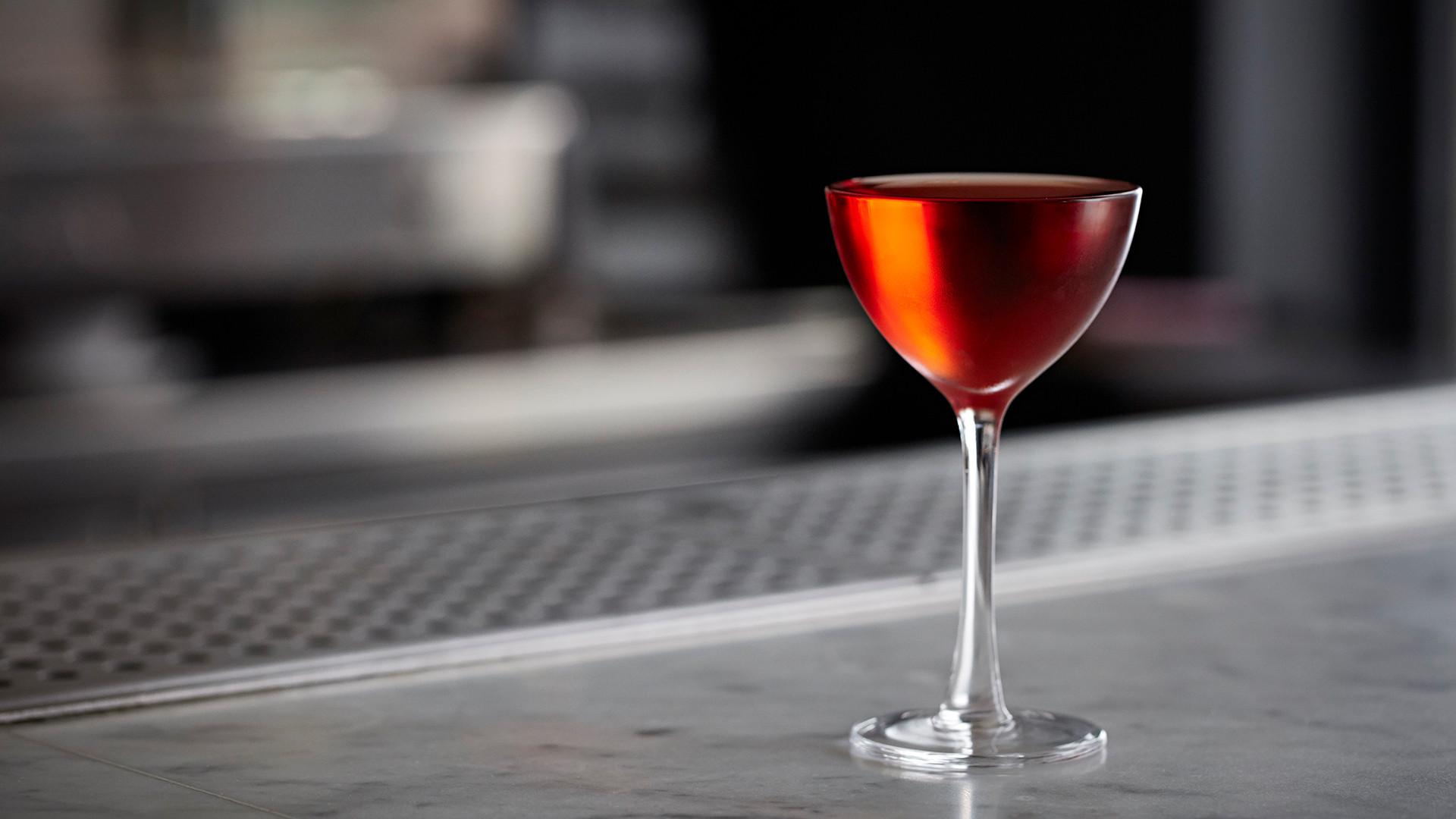 Classic negroni at Bar Termini