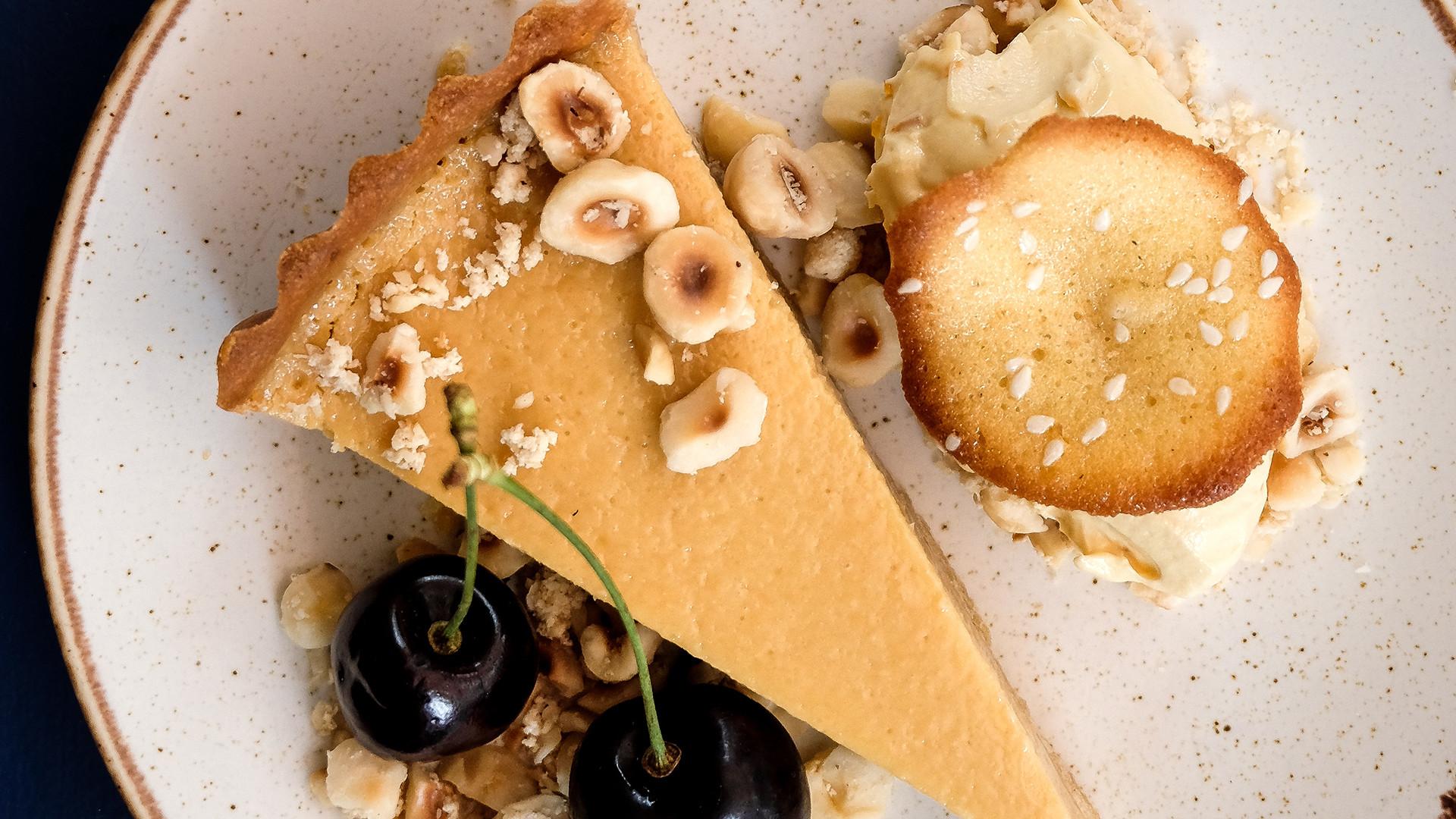 Palomar Frieze tasting menu