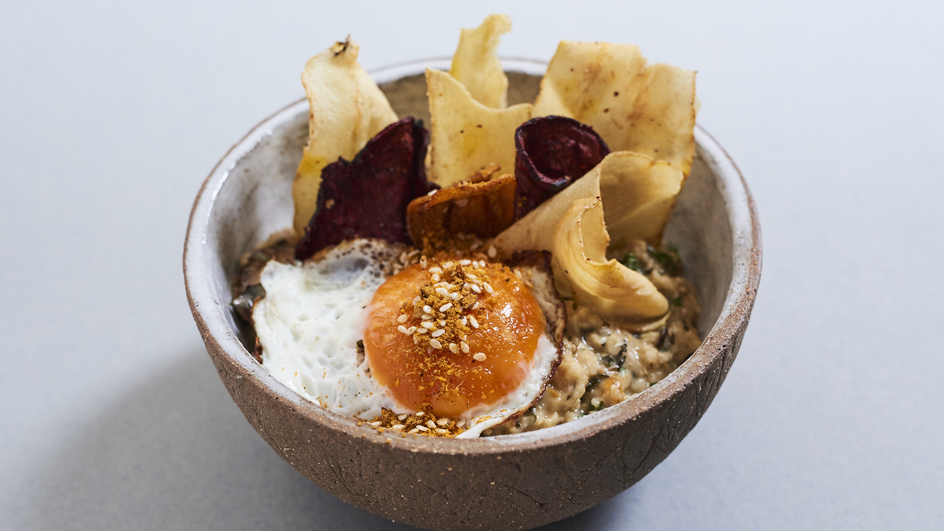 Ally Head and Lydia Winter's winning dish at this year's Rude Health Porridge Championships