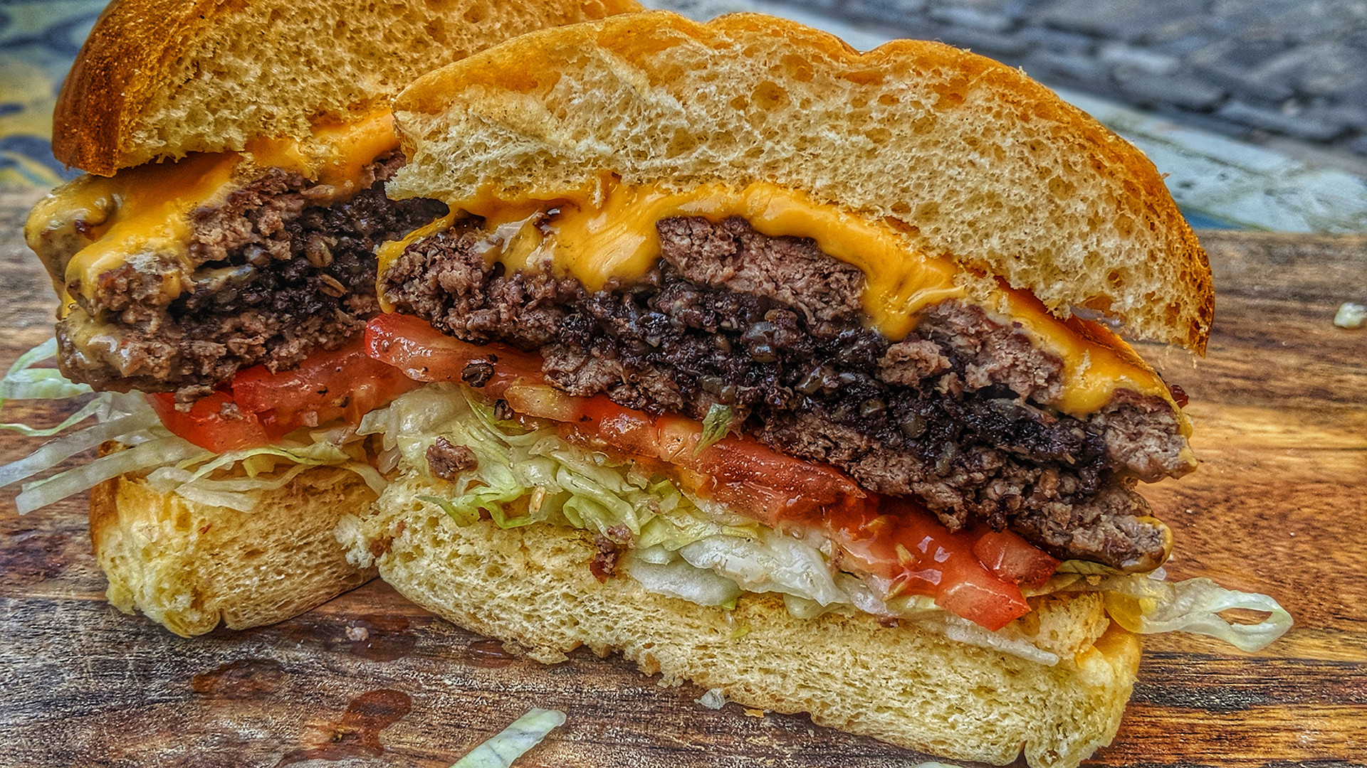 Burger Boy's Clonakilty Blackpudding burger