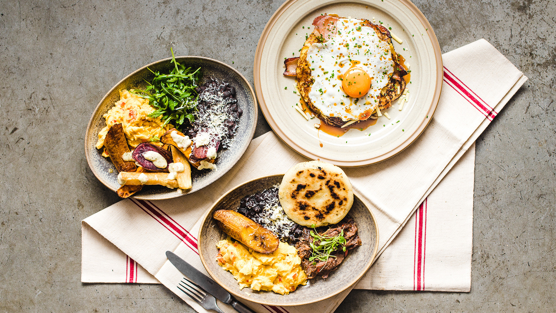Arepa & Co brunch