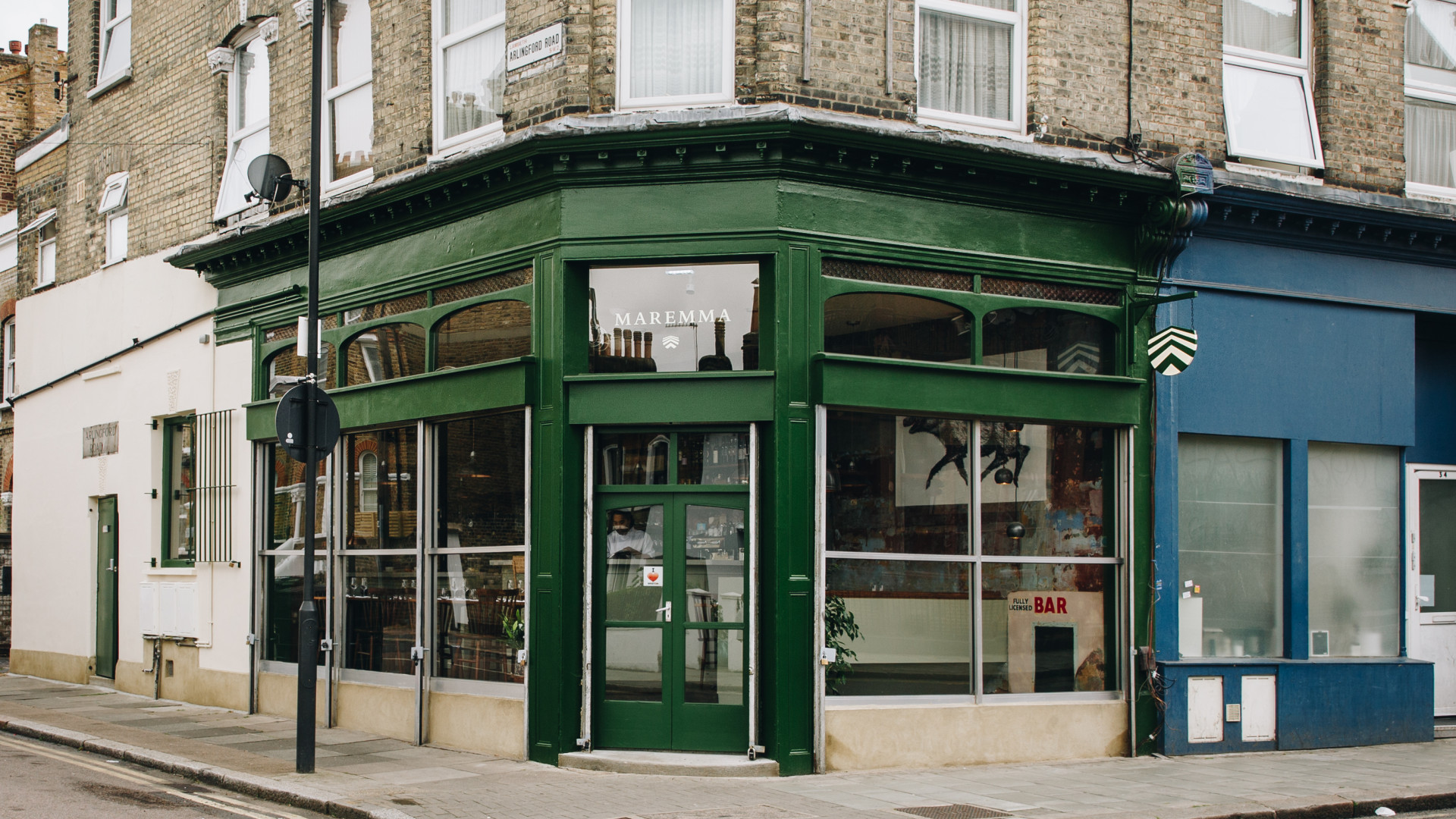 Maremma, Brixton: the restaurant on Watergate Lane