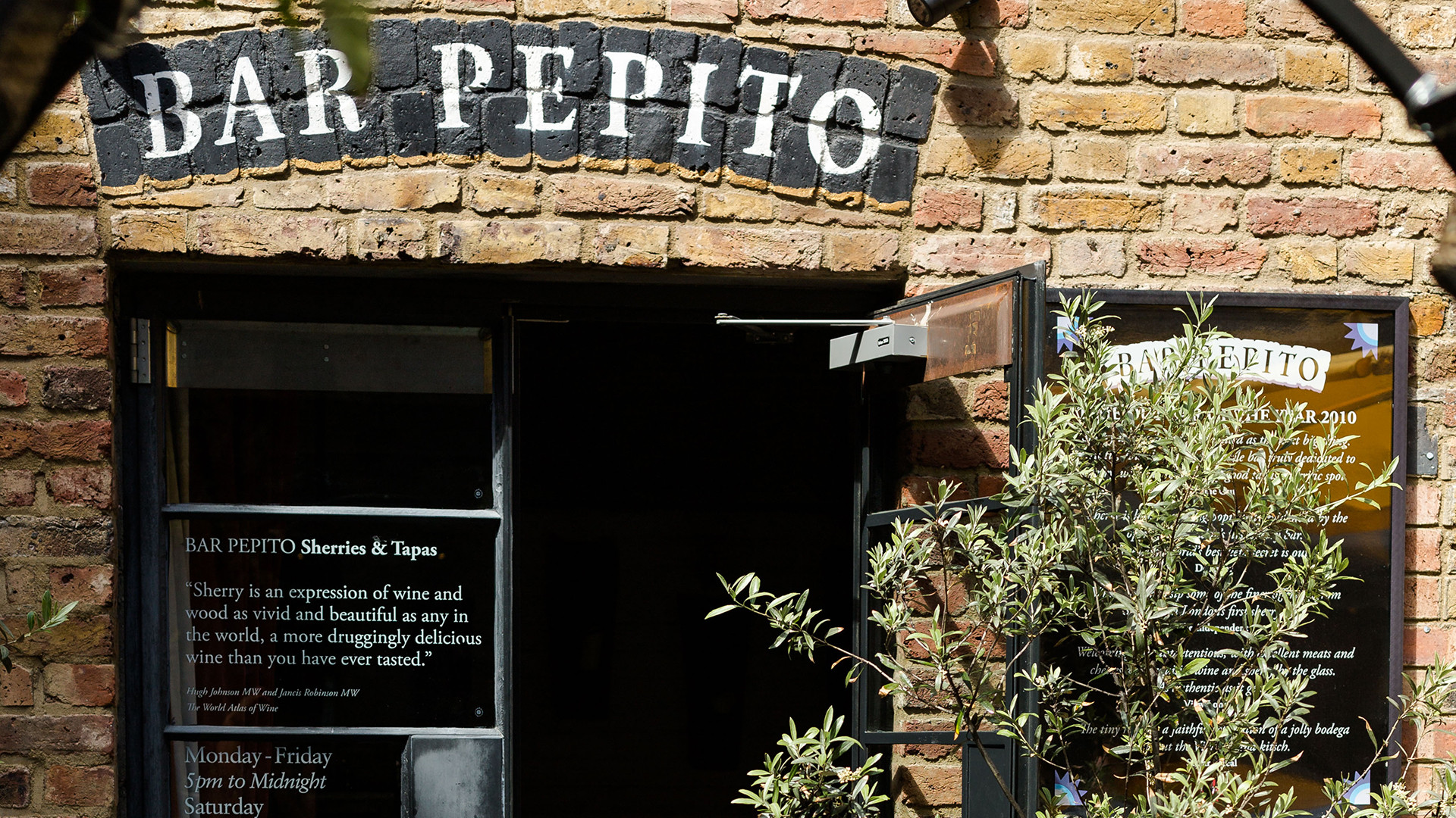 Where to drink in King's Cross – Bar Pepito