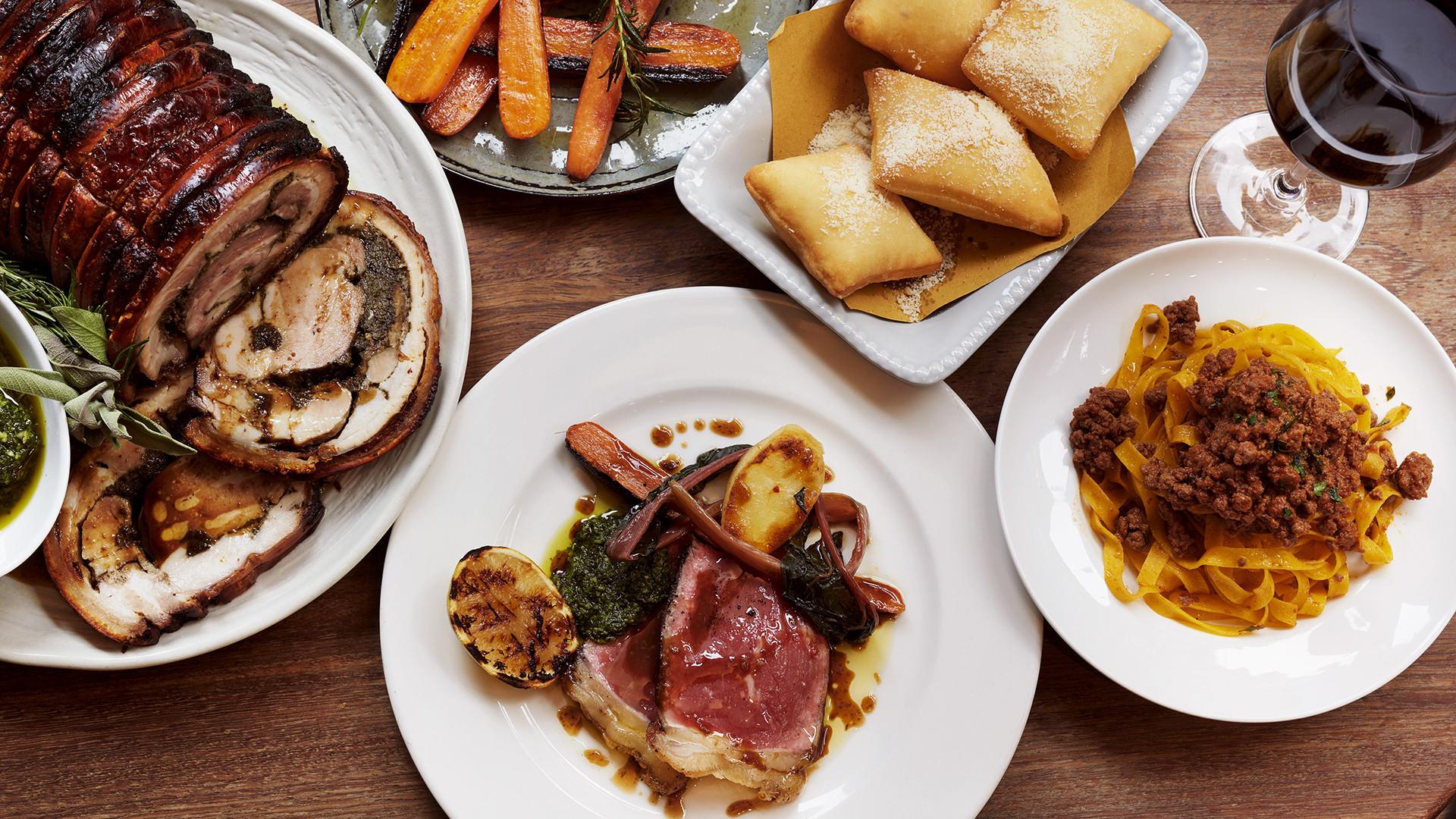 Mele e Pere's Sunday Roast all'Italiana