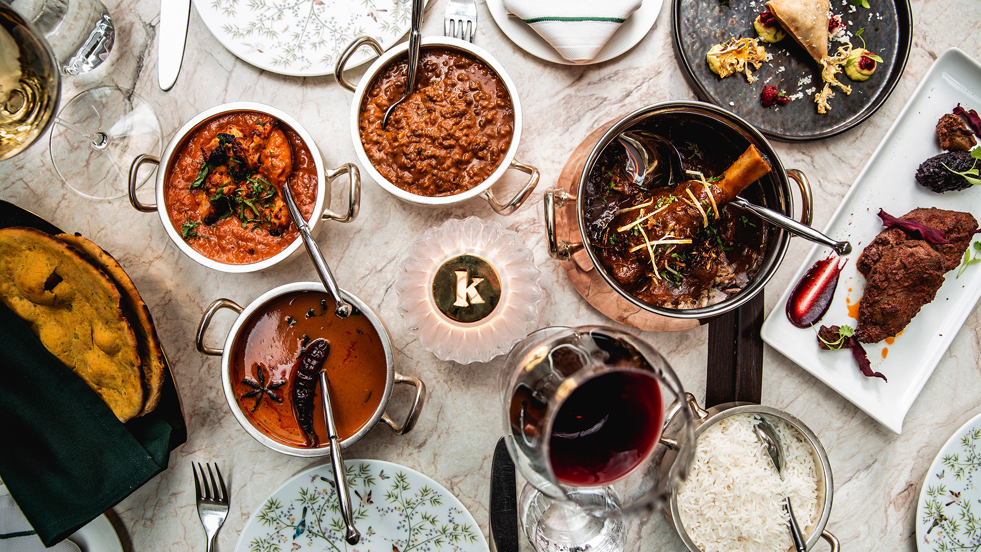 Festive menu at Kutir